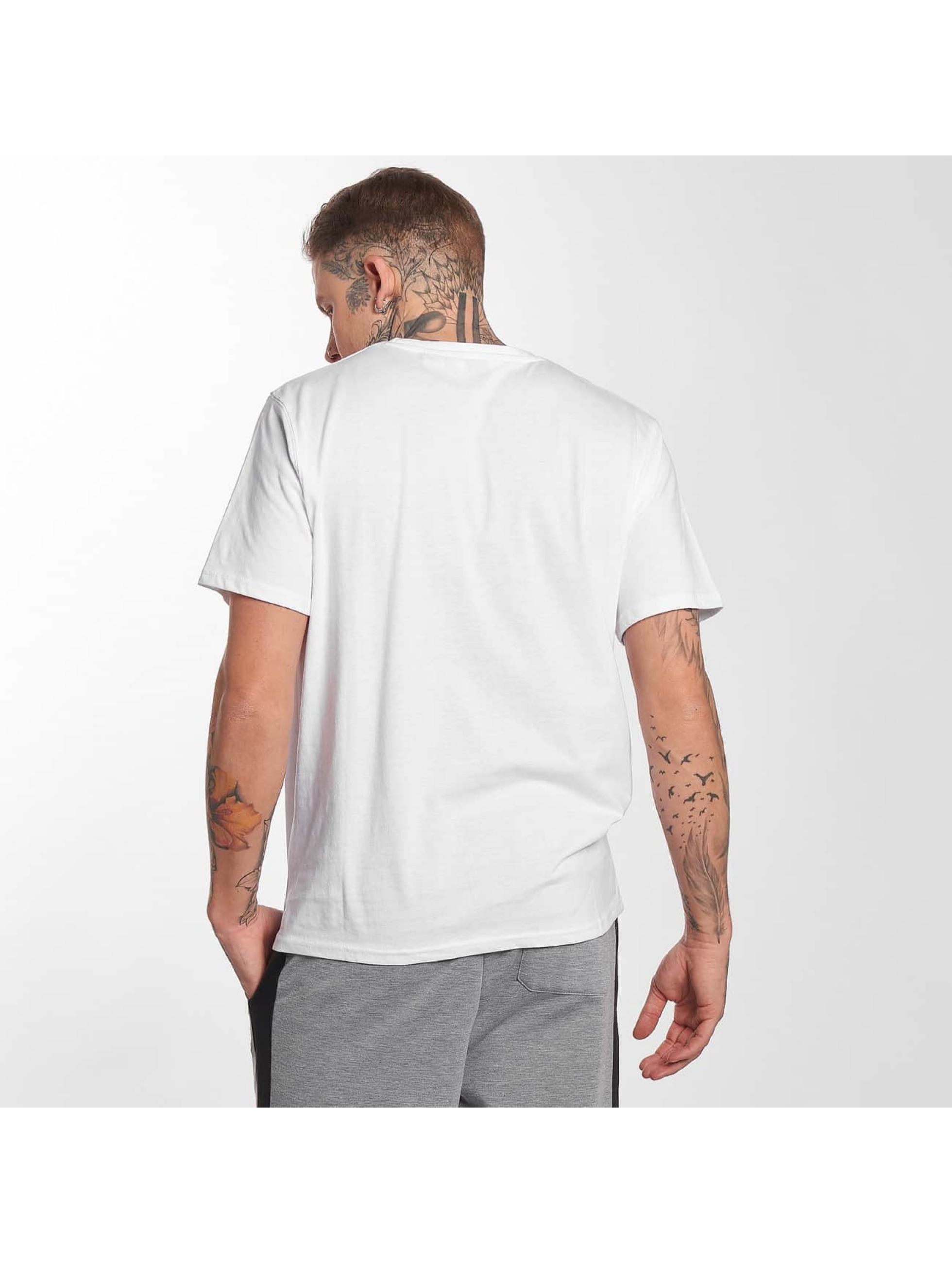 Lonsdale London T-Shirt Berry Head white