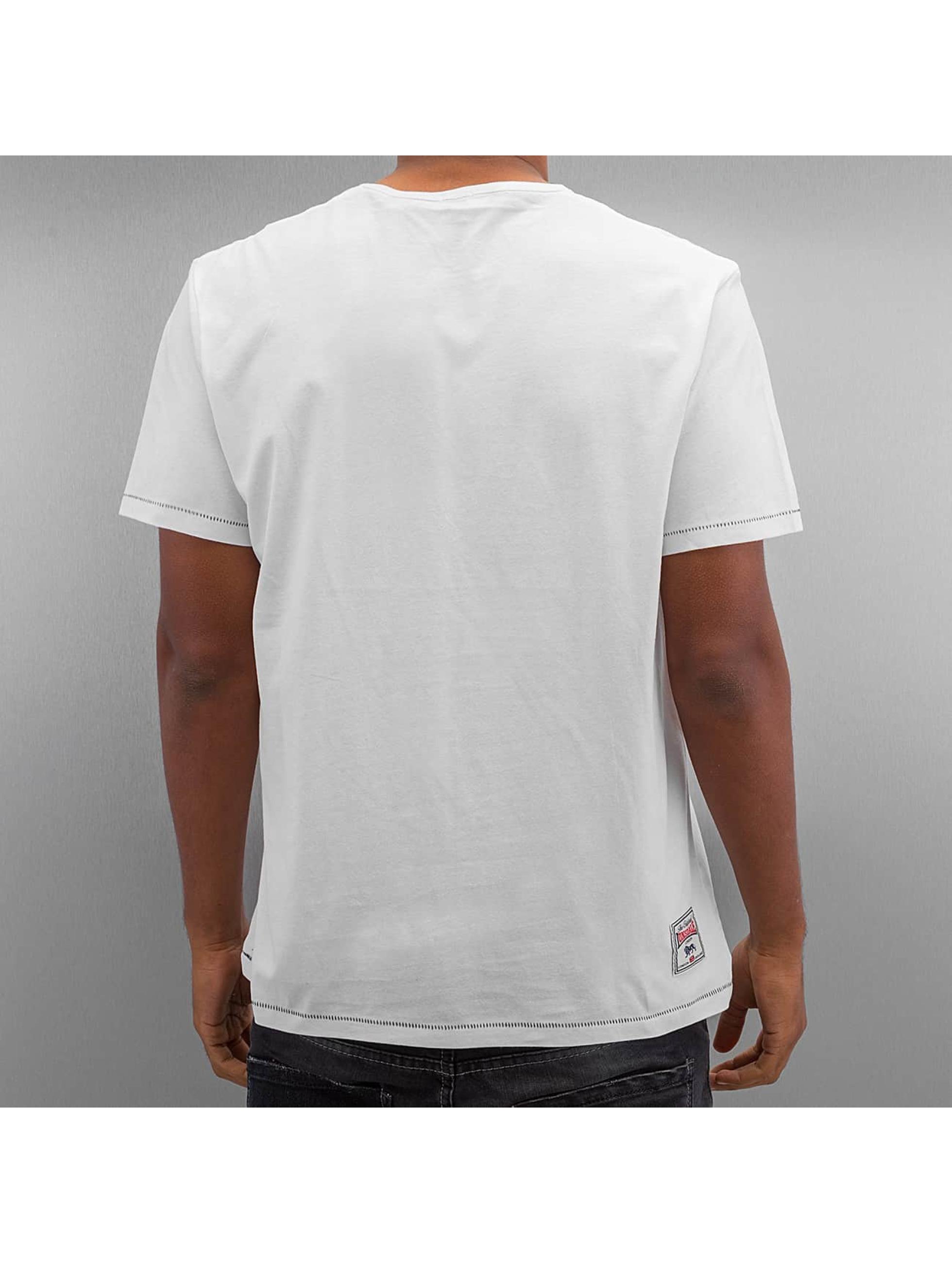 Lonsdale London t-shirt Kinnington Regular Fit wit