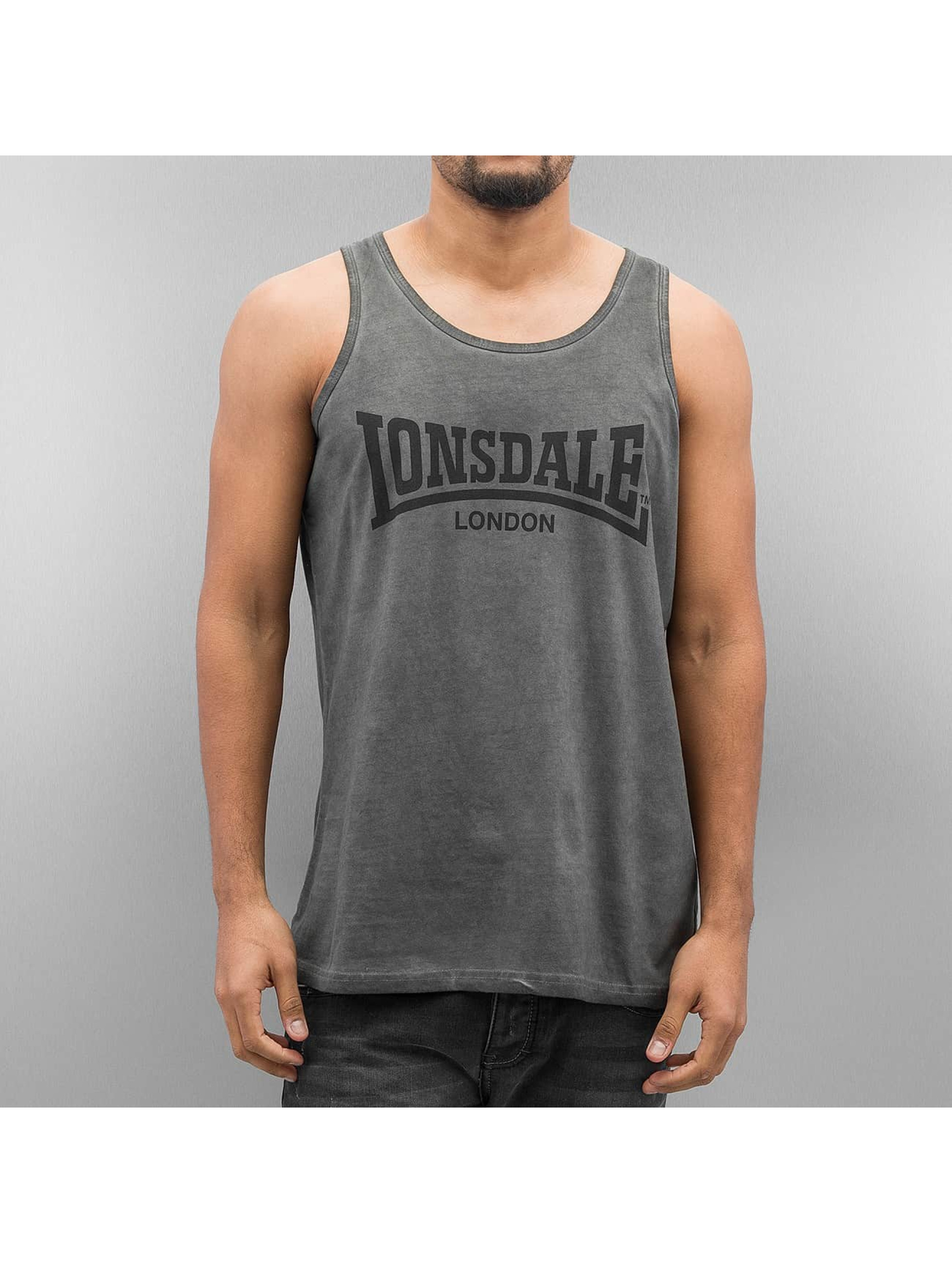 Lonsdale London Tank Tops Hartbottle šedá