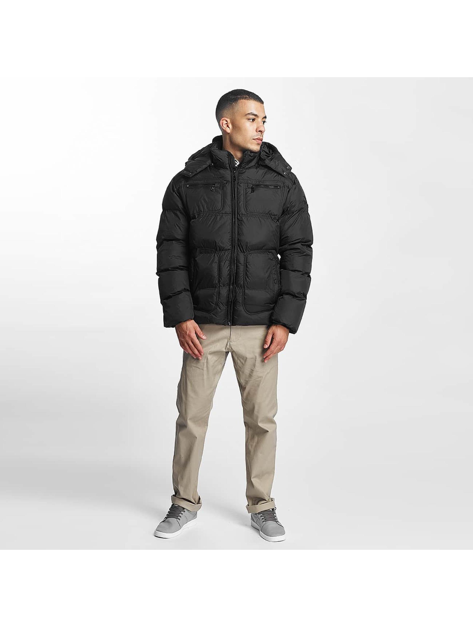 Lonsdale London winterjas Kellan zwart