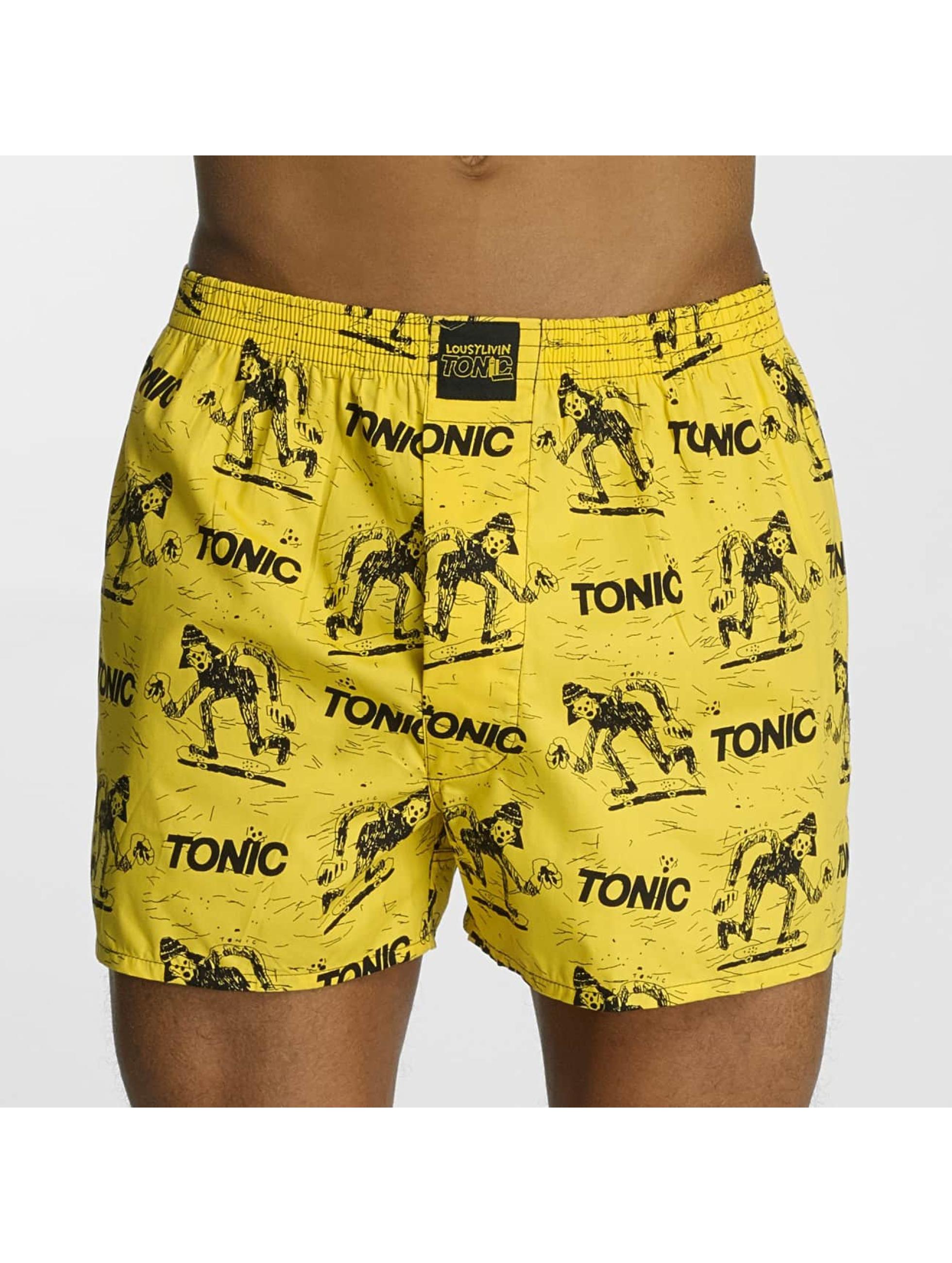 Lousy Livin  Shorts boxeros Tonic amarillo