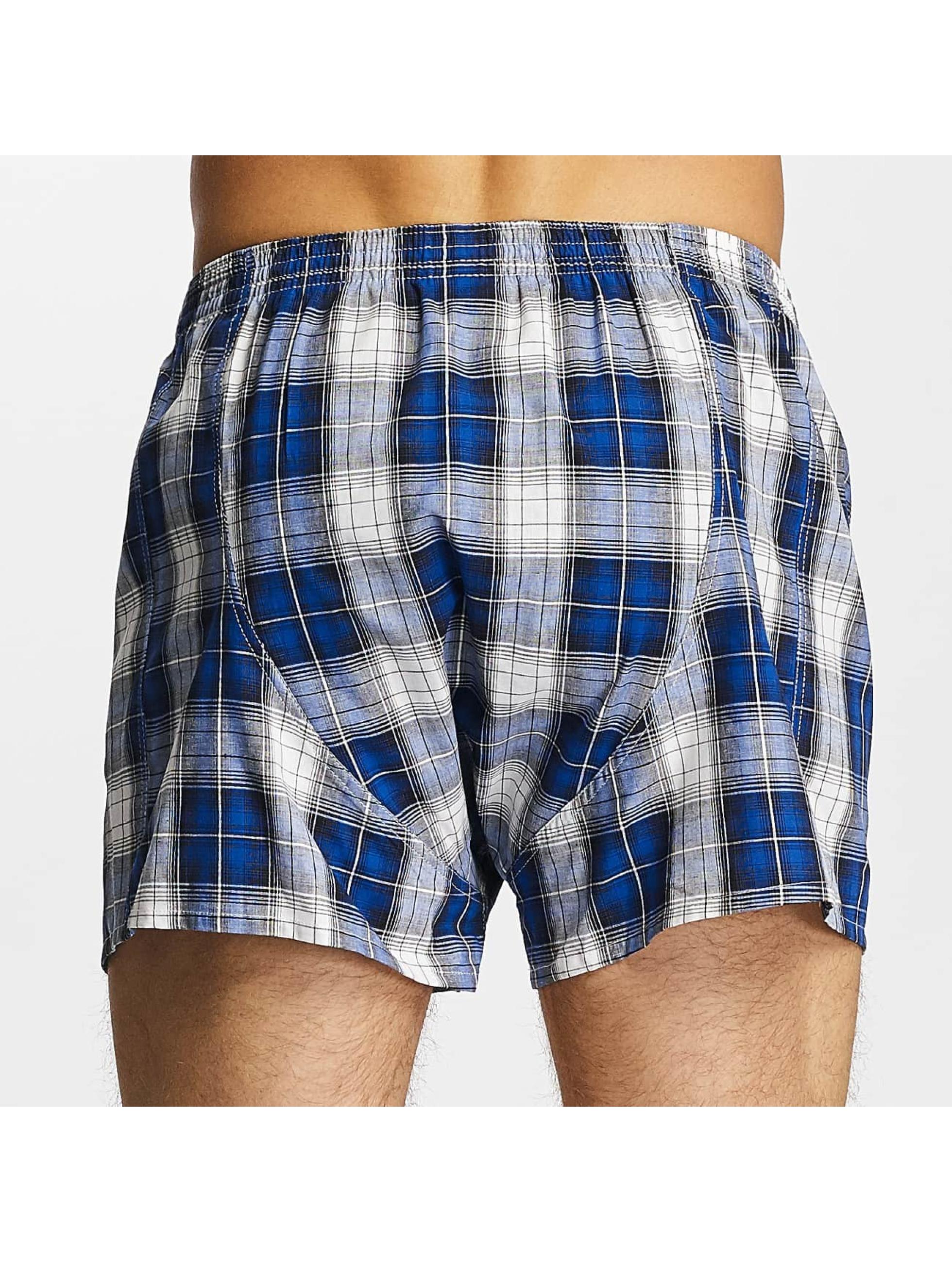 Lousy Livin  Shorts boxeros Check azul