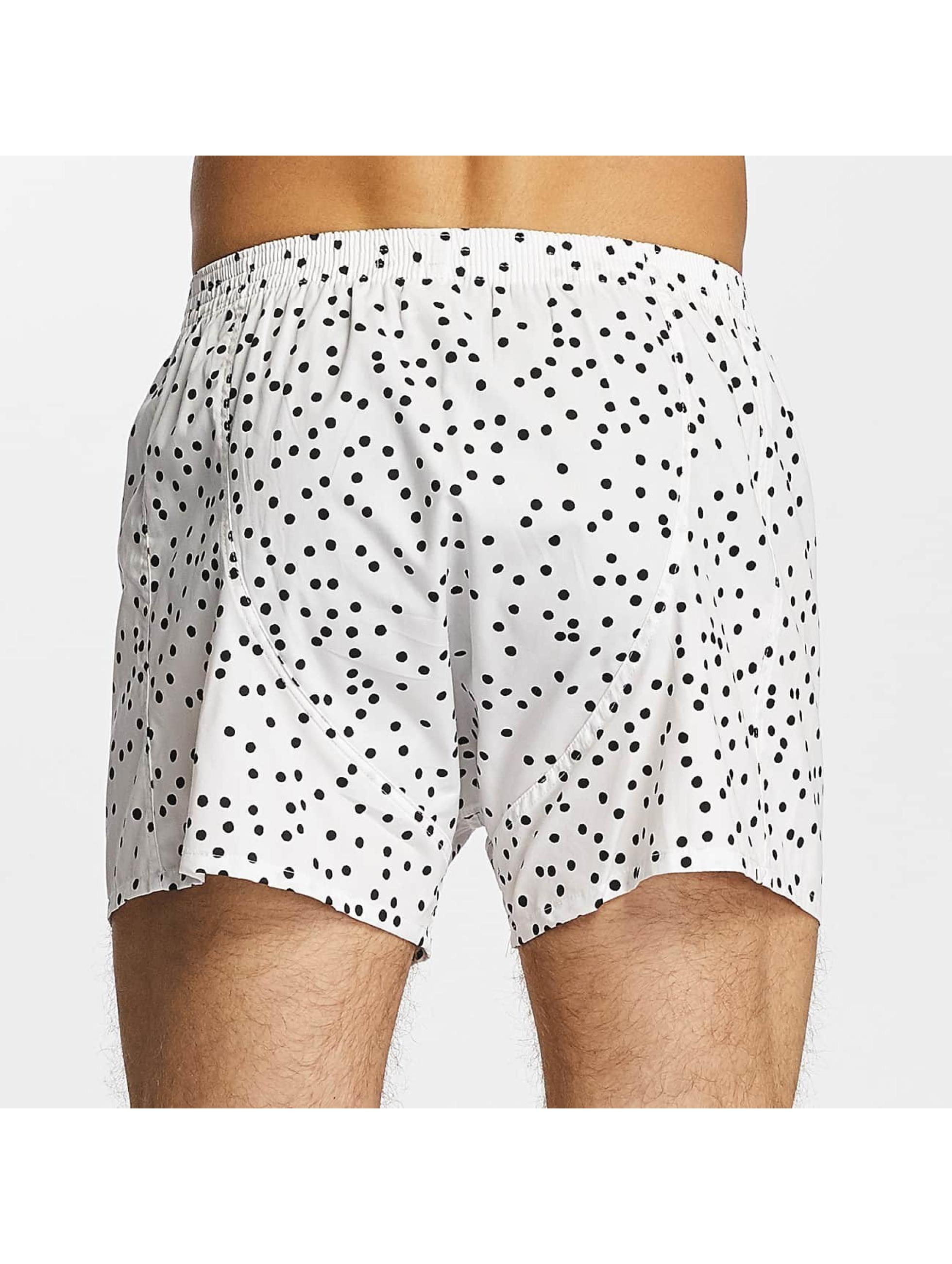 Lousy Livin  Shorts boxeros Dots blanco