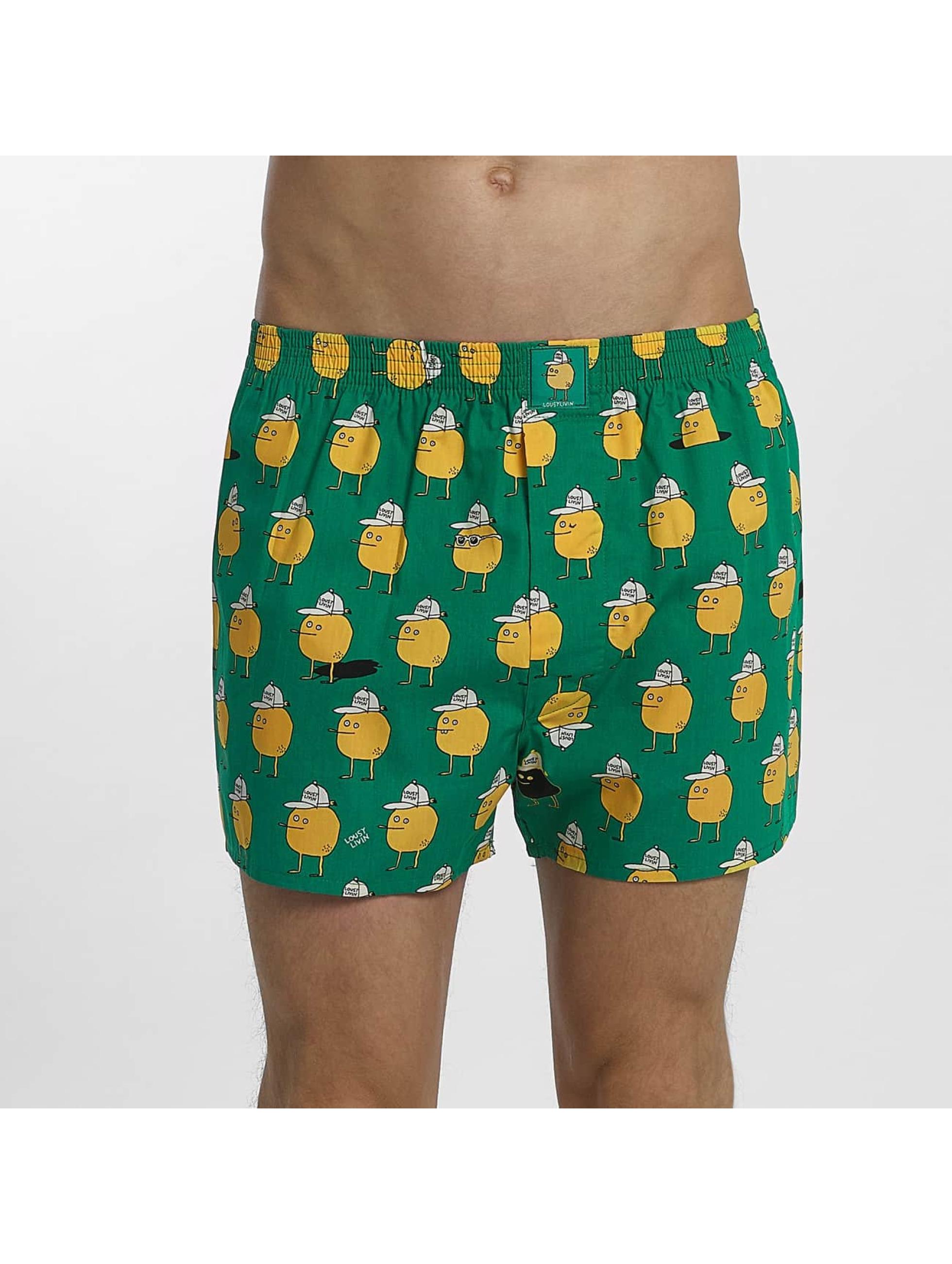 Lousy Livin Bokserki Zitrone zielony