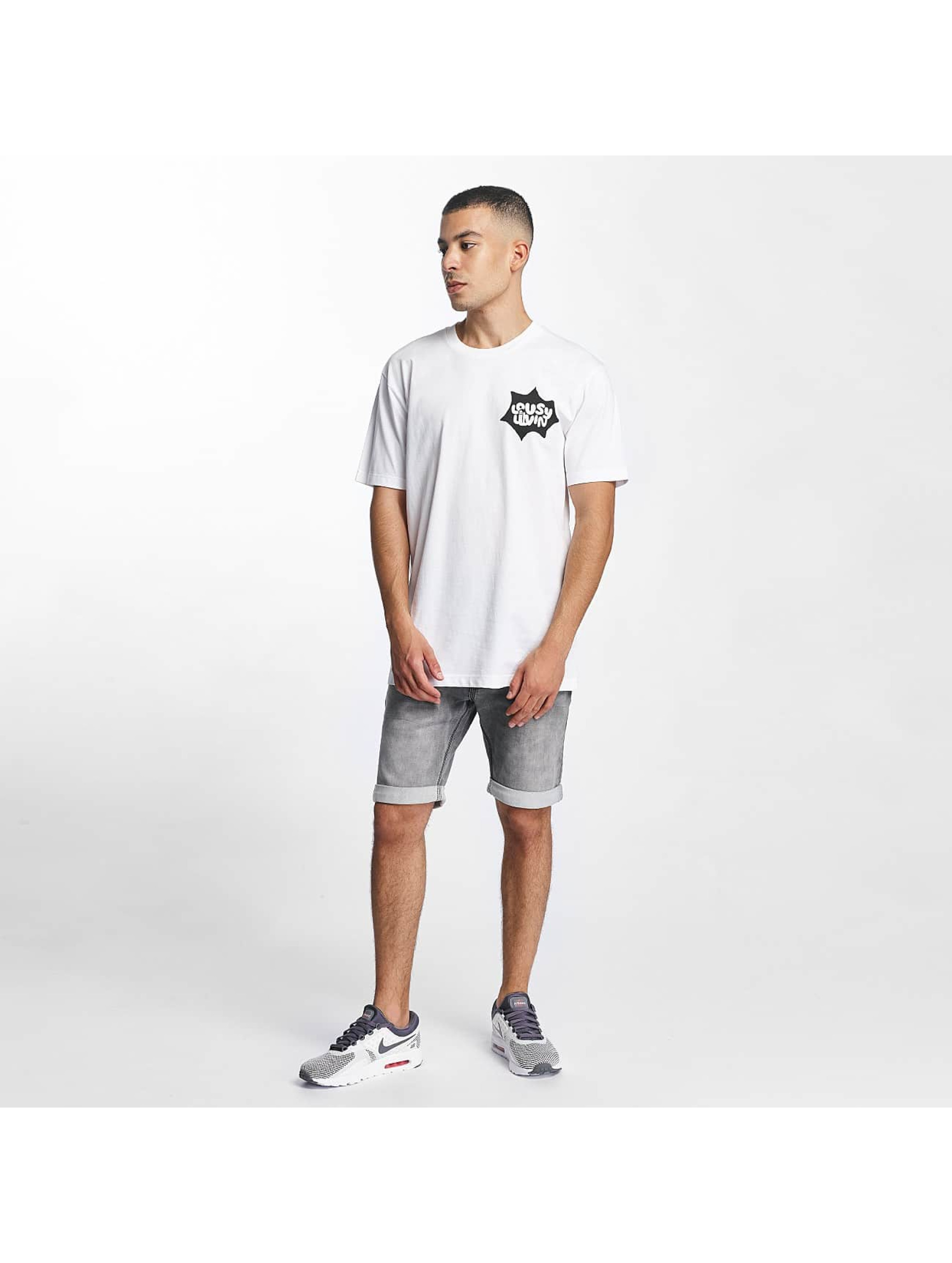 Lousy Livin T-paidat POW Basic valkoinen