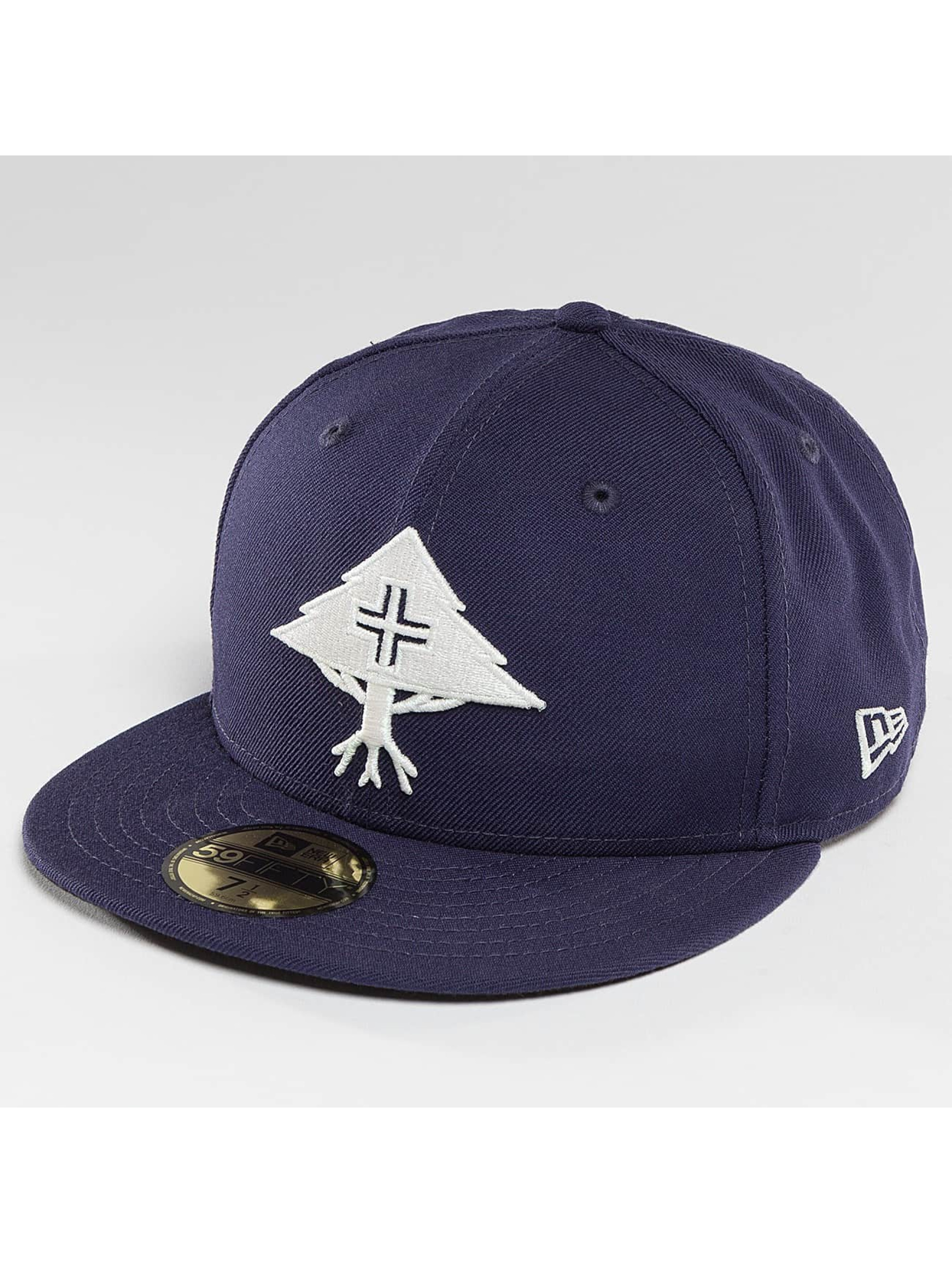 LRG Fitted Cap Big Trees modrá