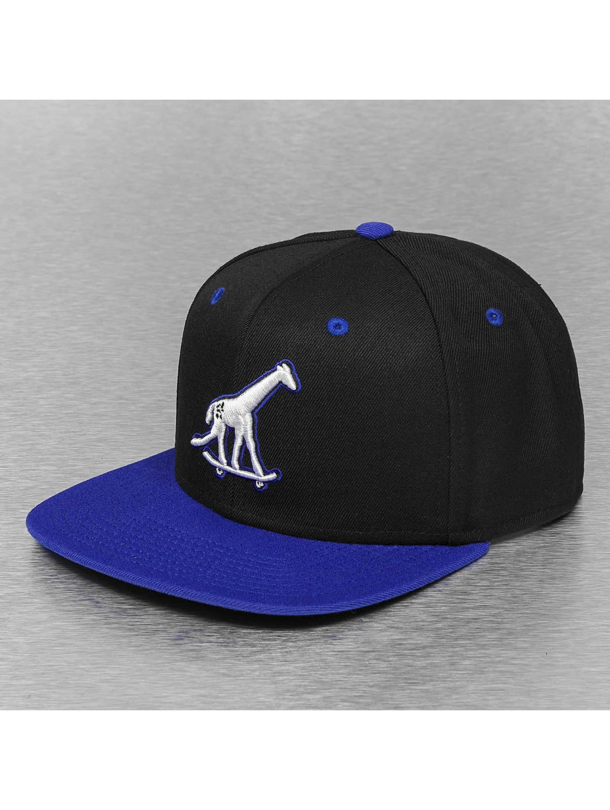 LRG Snapback Cap Skate Giraffe schwarz