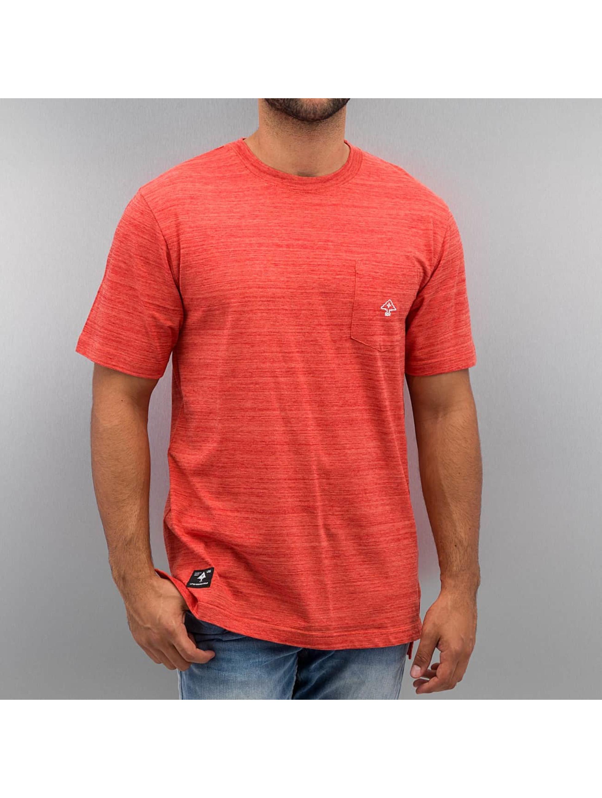 LRG T-paidat All Natural SS Knit punainen