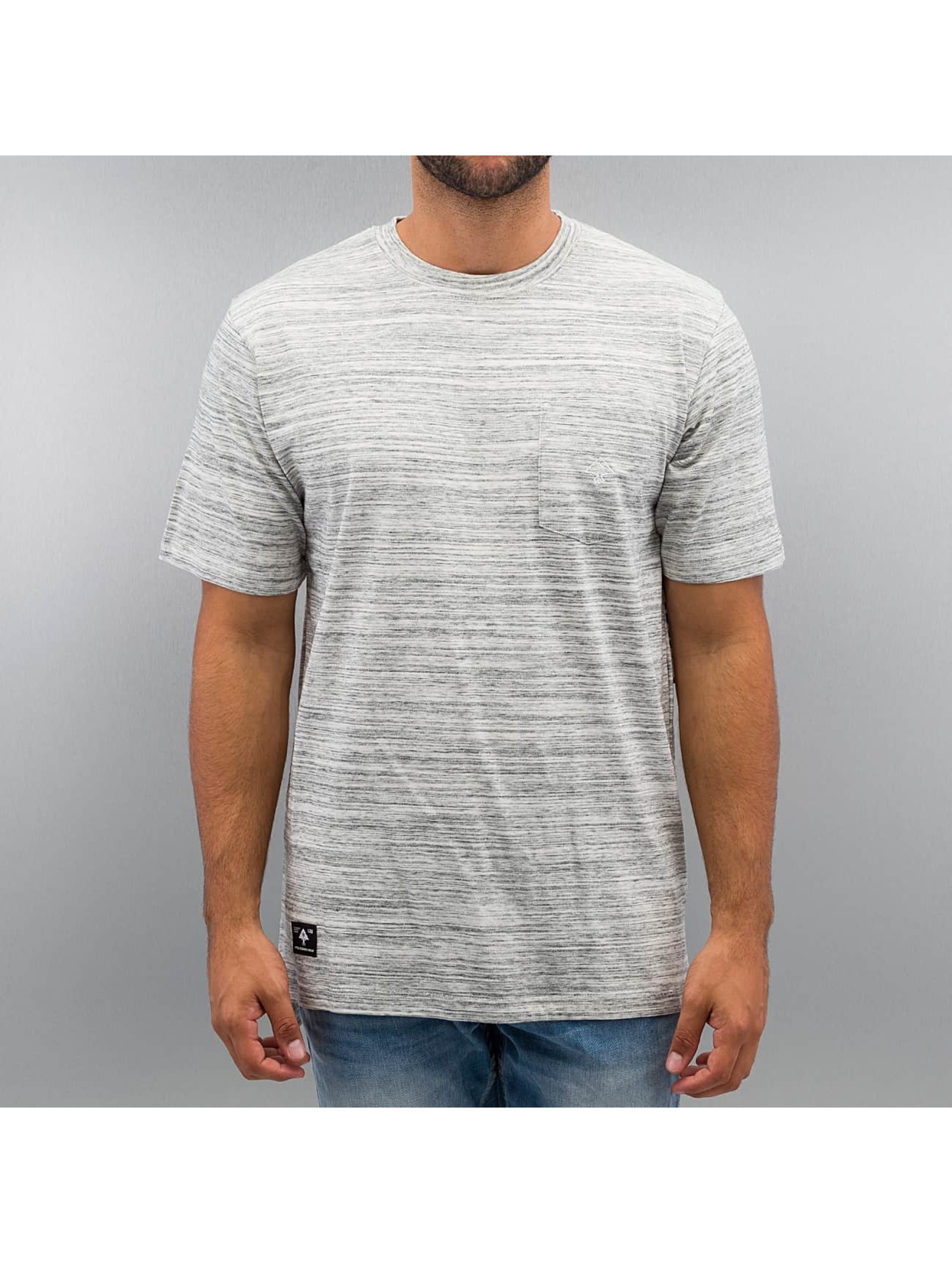 LRG T-Shirty All Natural SS Knit szary