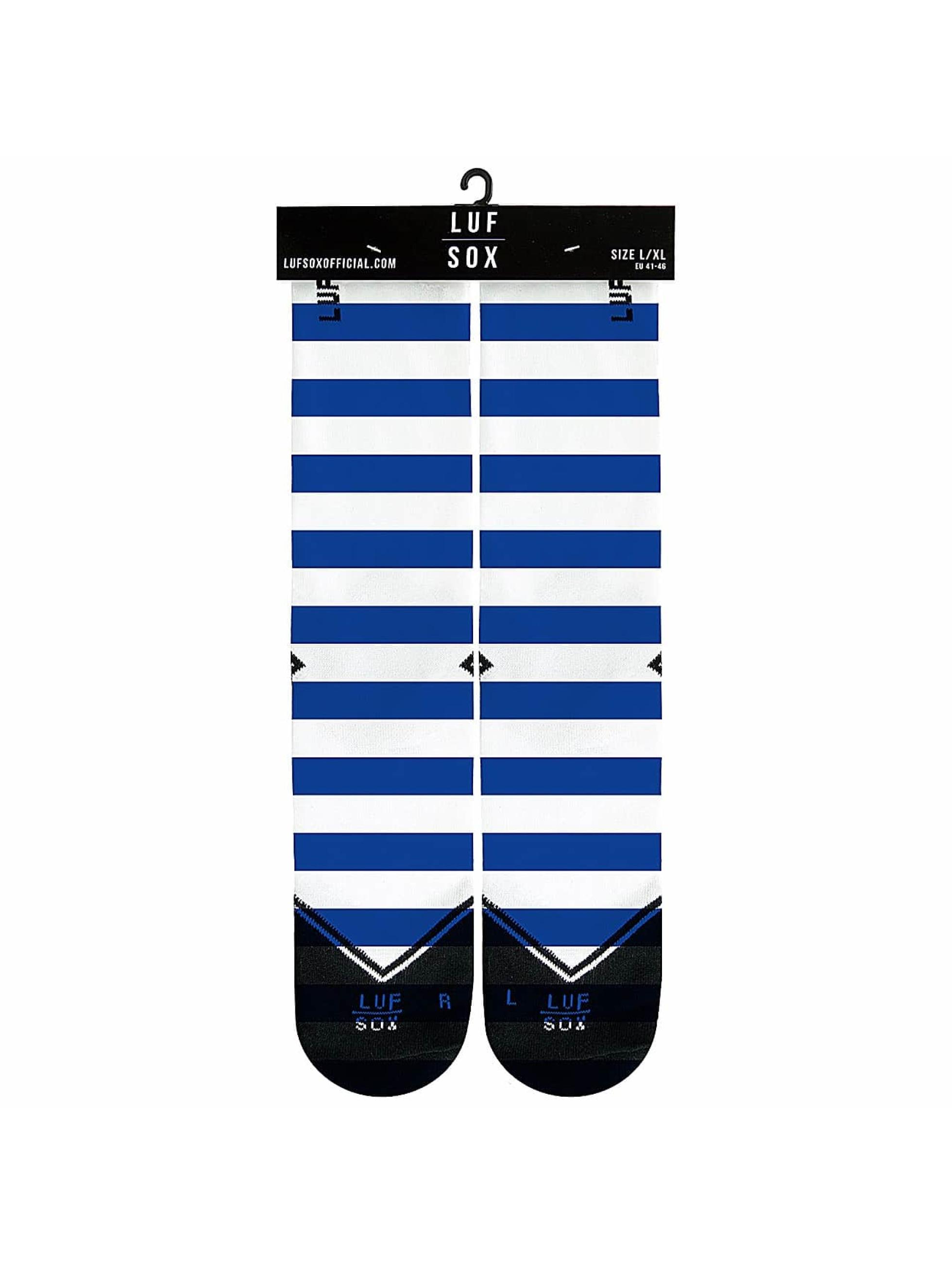LUF SOX Chaussettes Sailor bleu