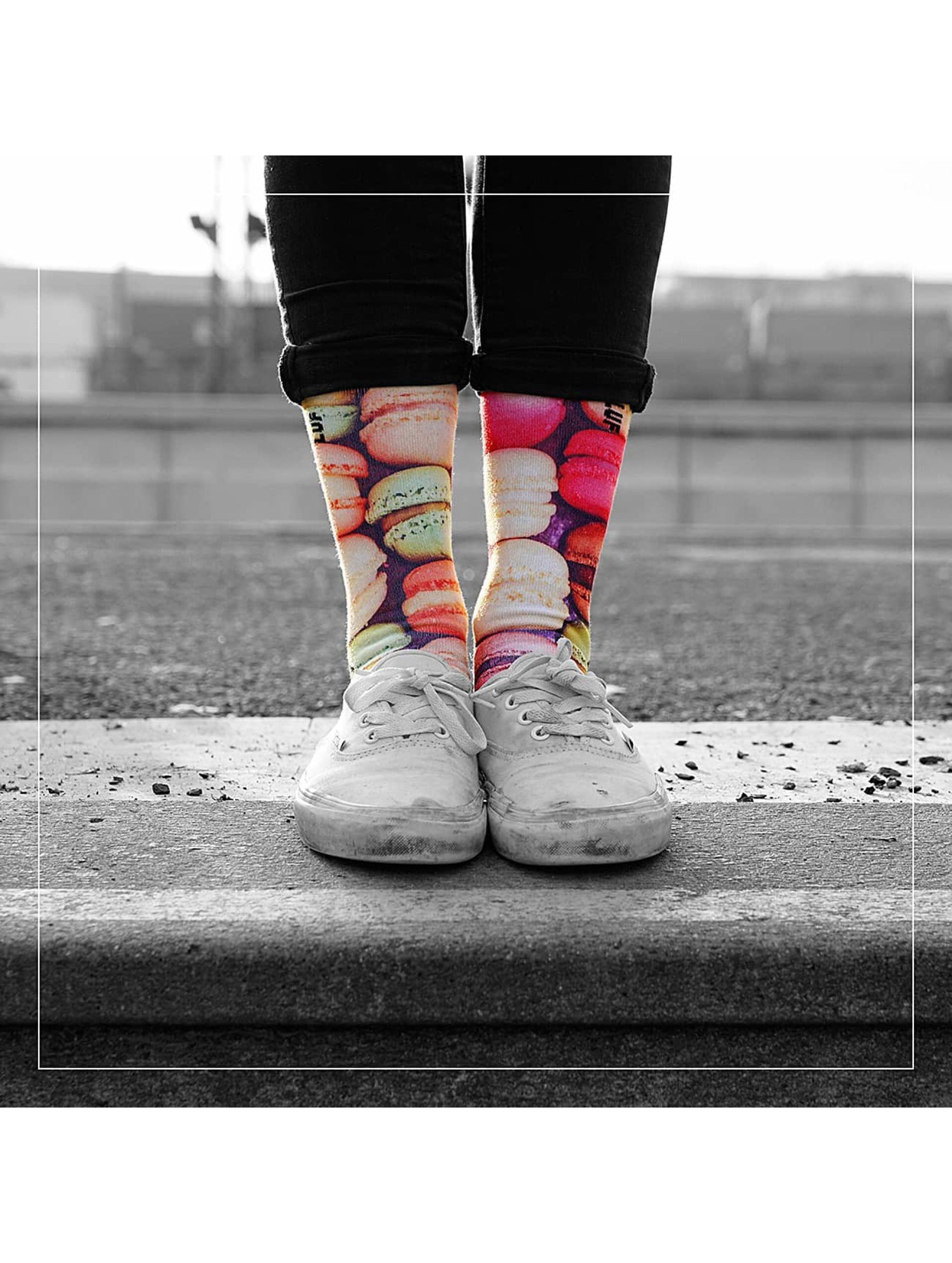 LUF SOX Chaussettes Macaroo multicolore