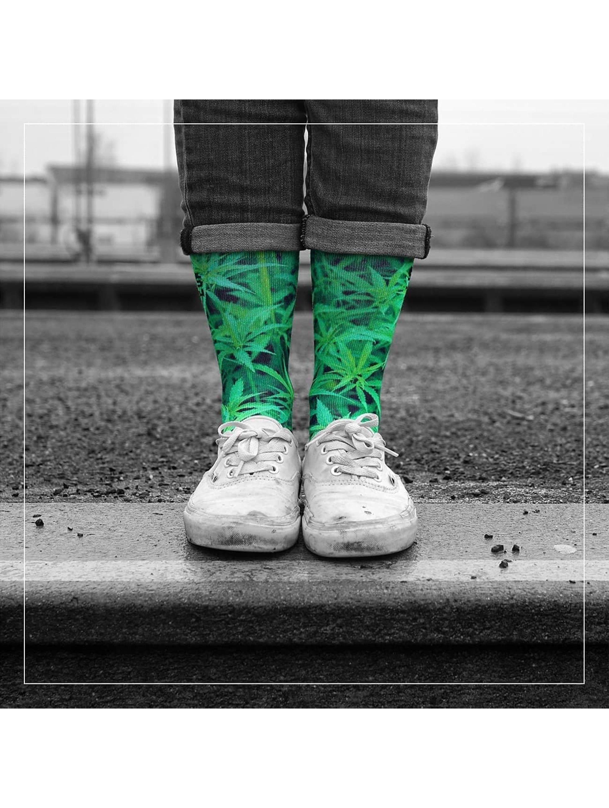 LUF SOX Chaussettes Ganja vert
