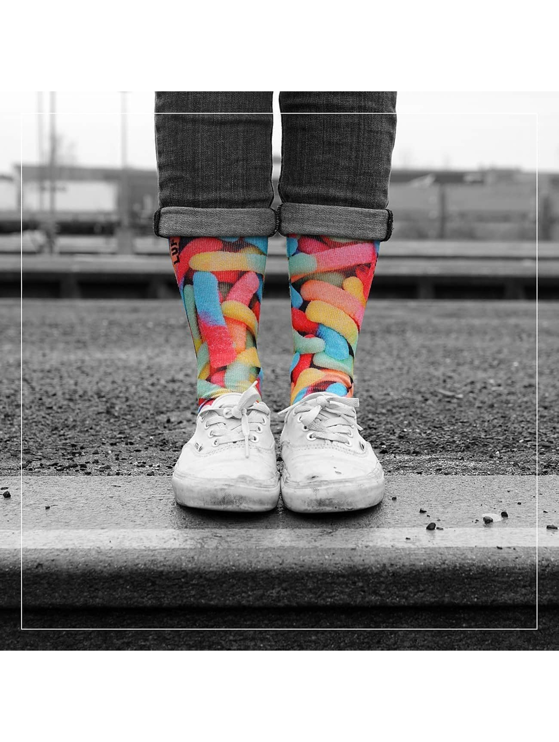 LUF SOX Ponožky Classics Gummy Worms pestrá