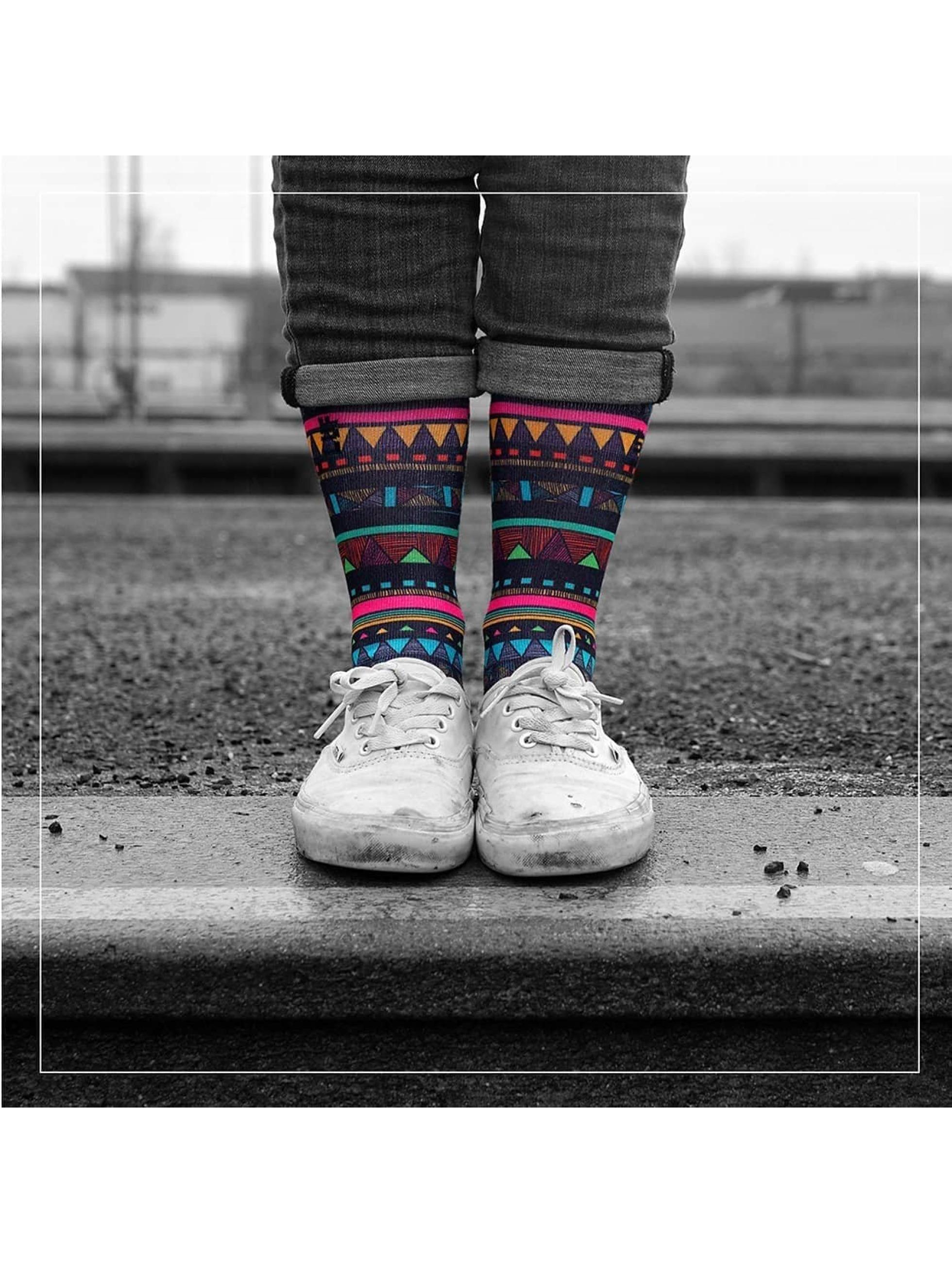 LUF SOX Ponožky Lines pestrá