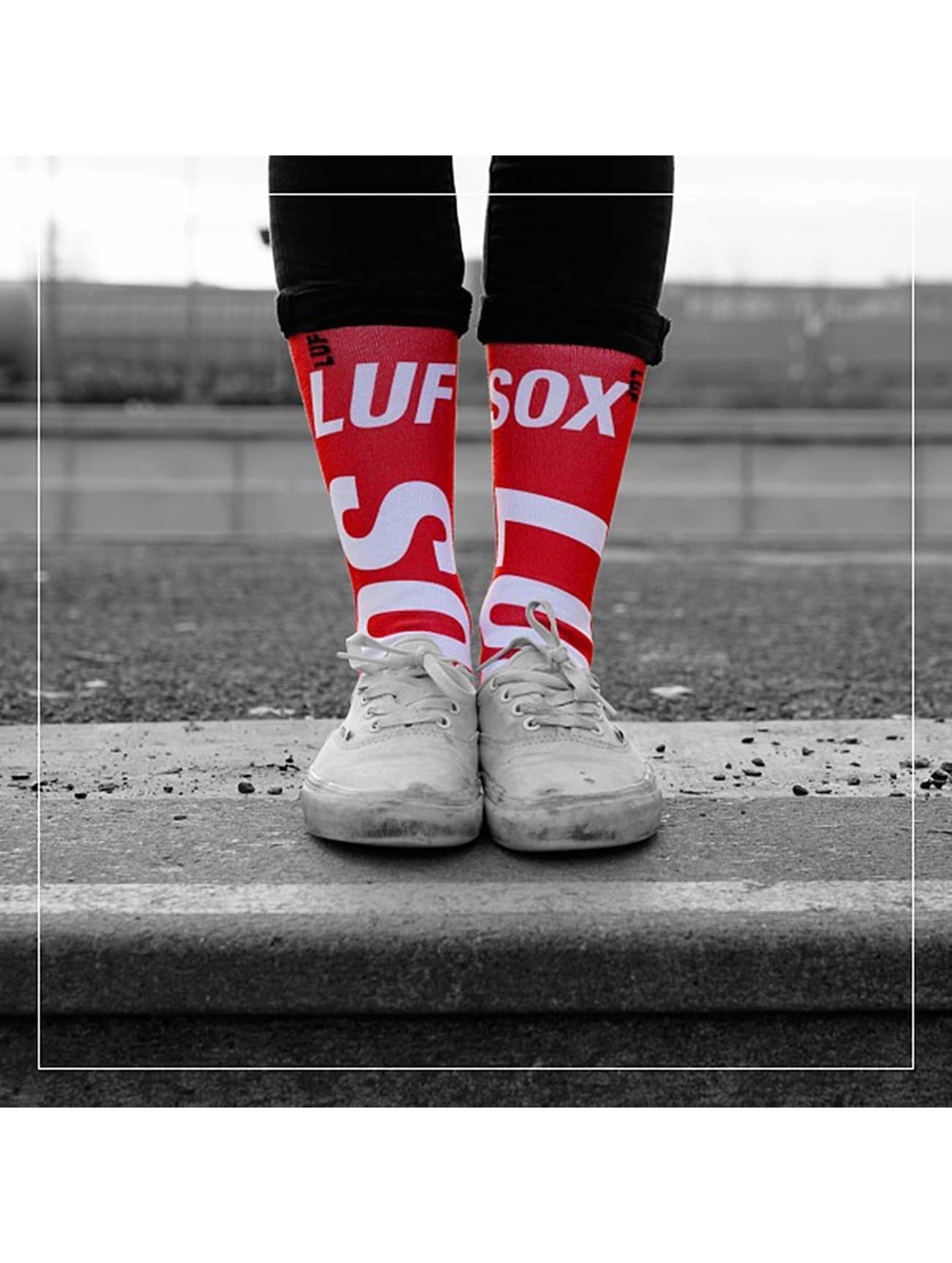 LUF SOX Skarpetki Official czerwony