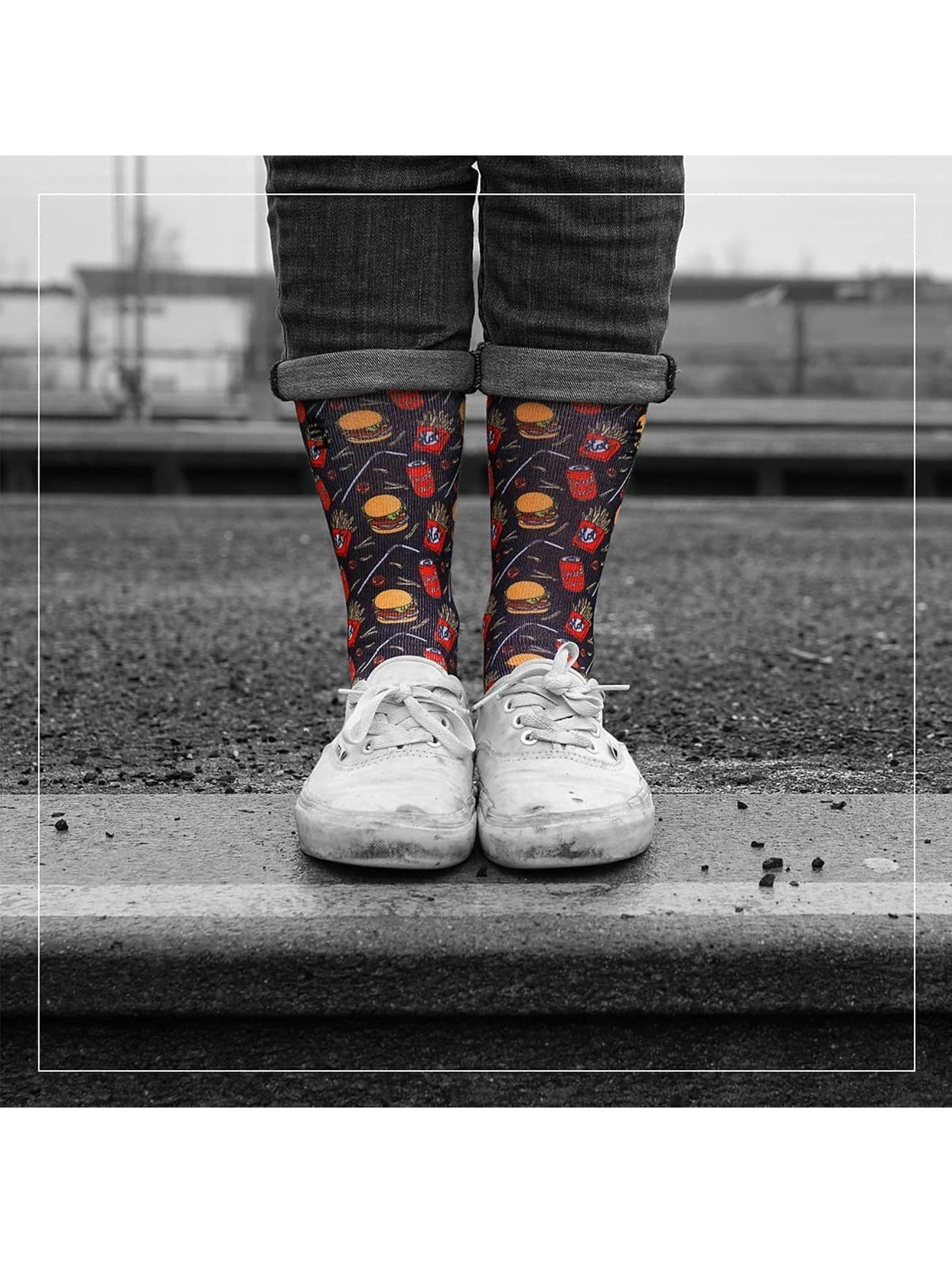 LUF SOX Socken King Menu bunt