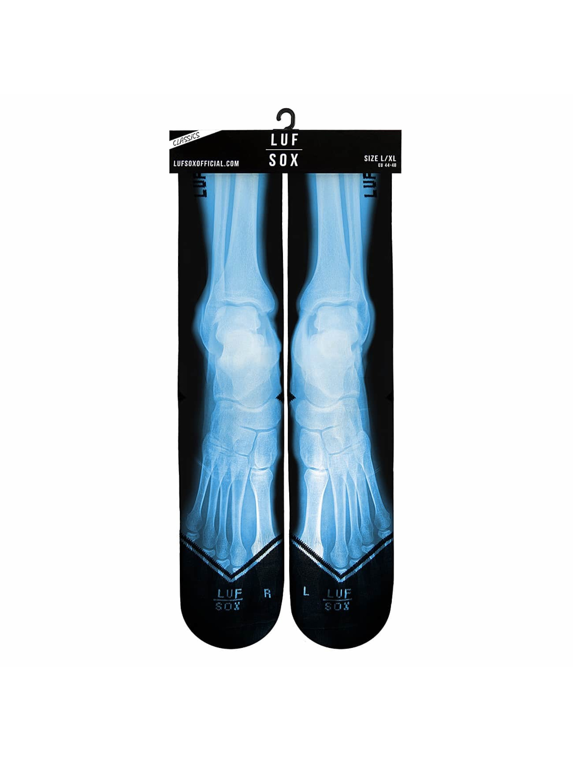 LUF SOX Socks X-Ray black