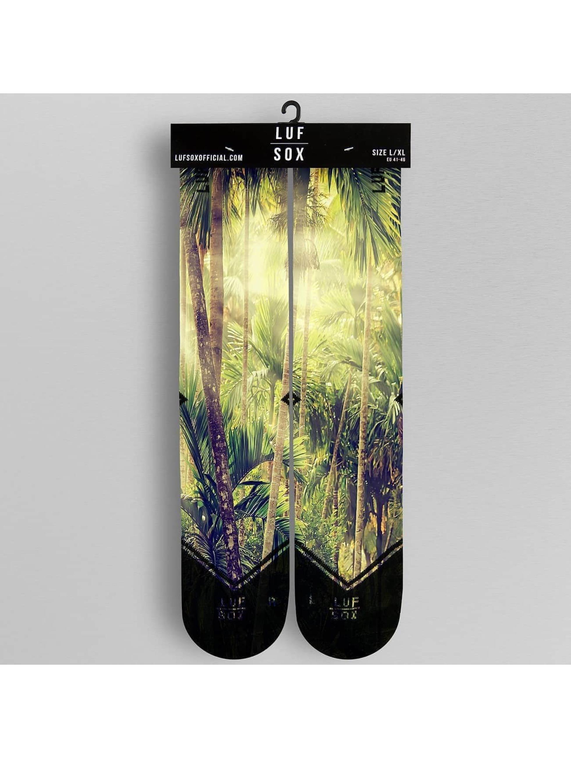 LUF SOX Sokken Jungle bont