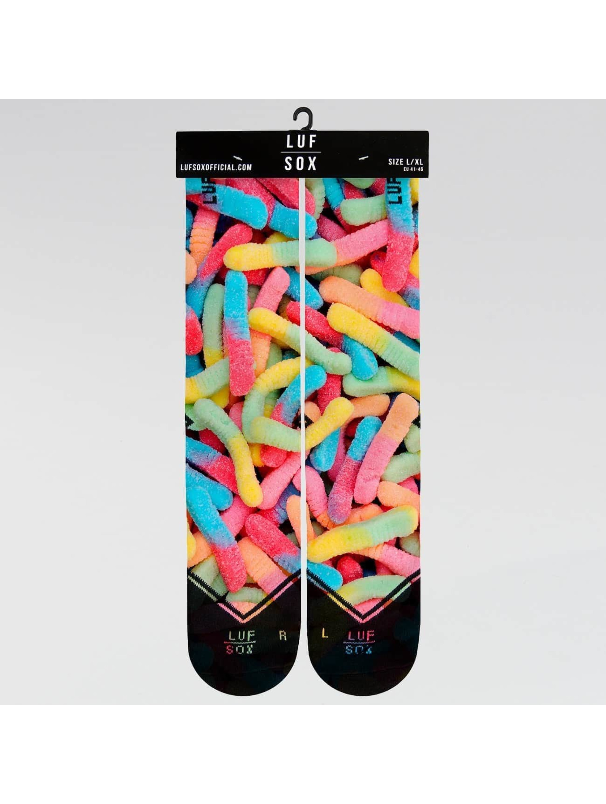 LUF SOX Sokker SOX Classics Gummy Worms mangefarget