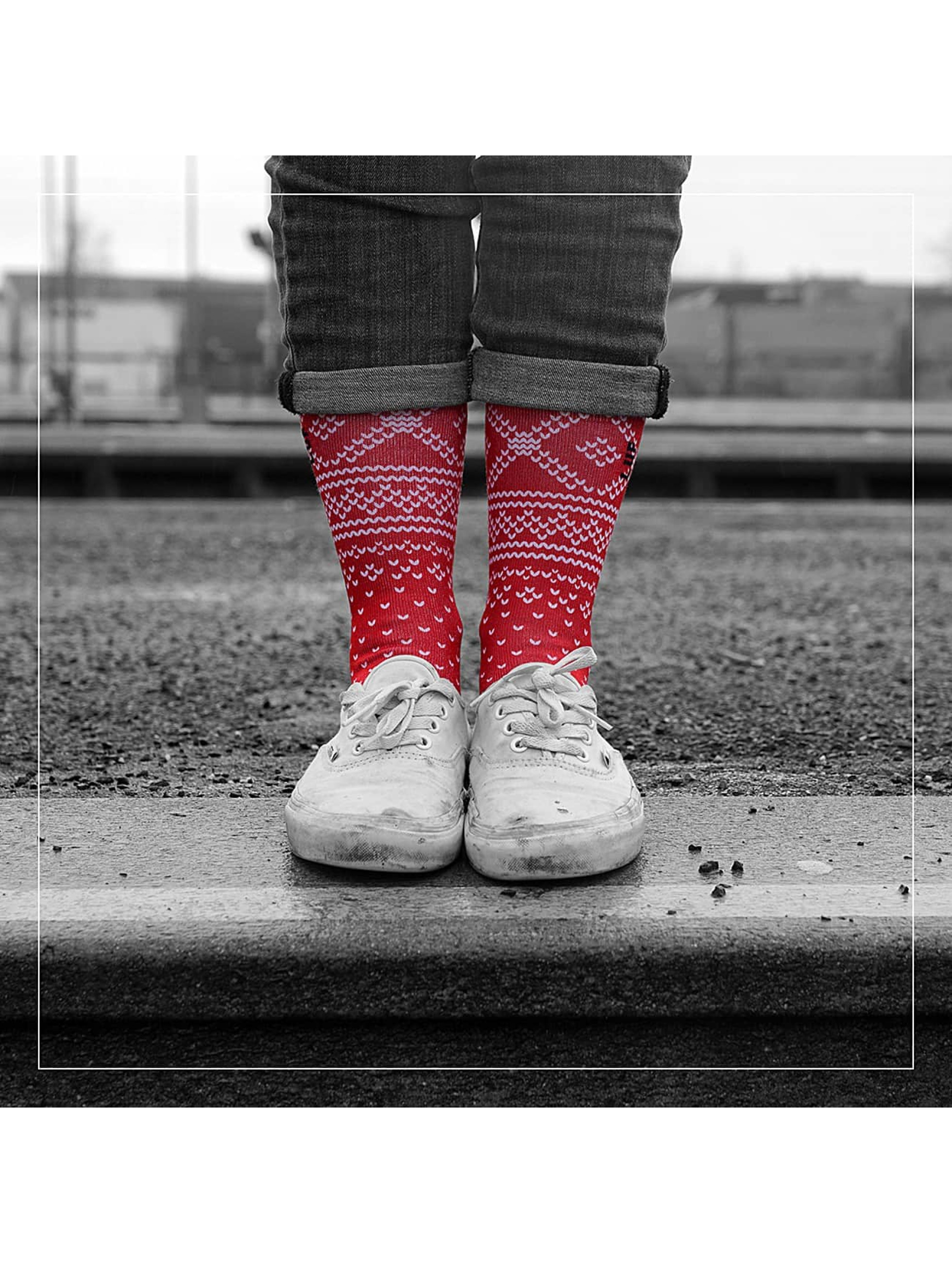LUF SOX Sokker Rorth red
