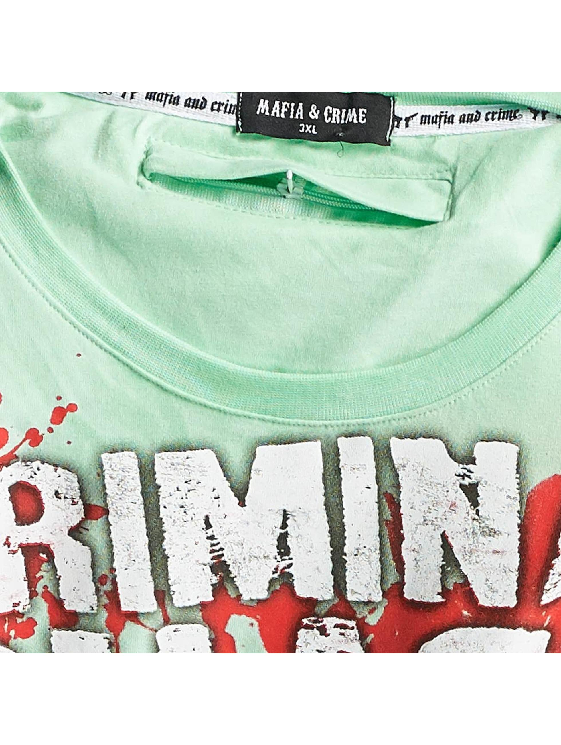 Mafia & Crime T-paidat Criminal Chaos vihreä