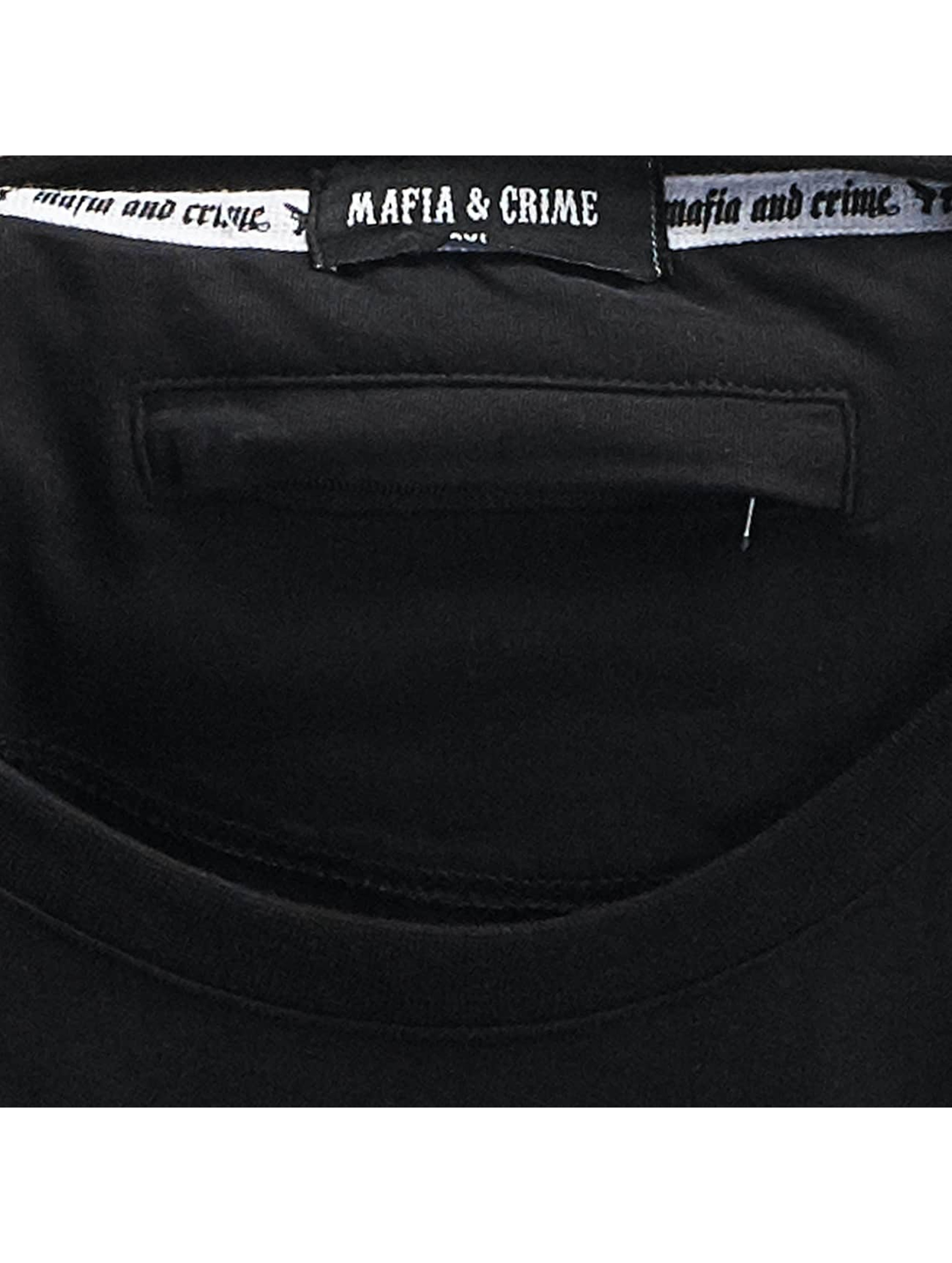 Mafia & Crime T-Shirt Bad Angel Crime Seduction black