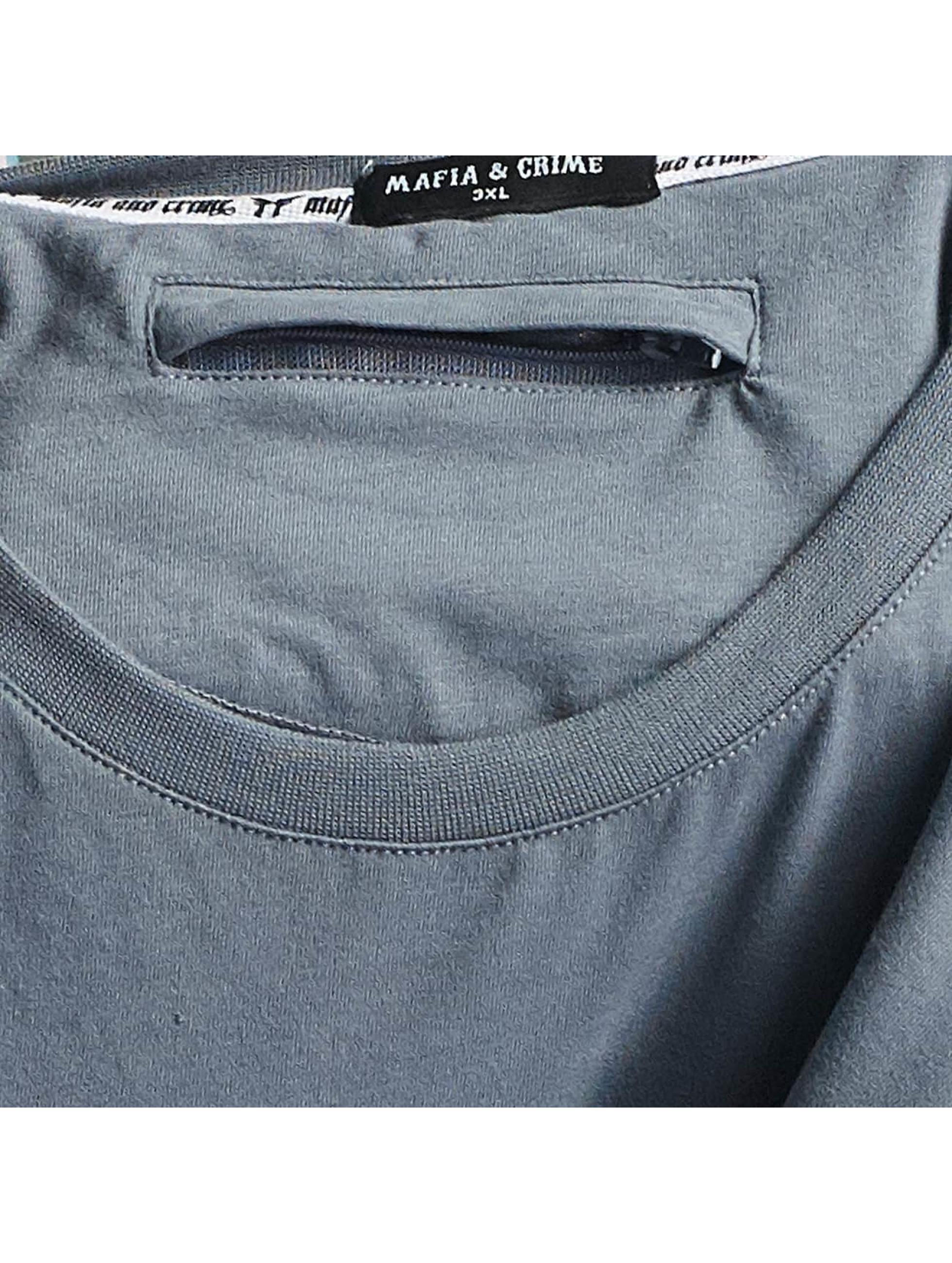 Mafia & Crime T-Shirt MC182 grau