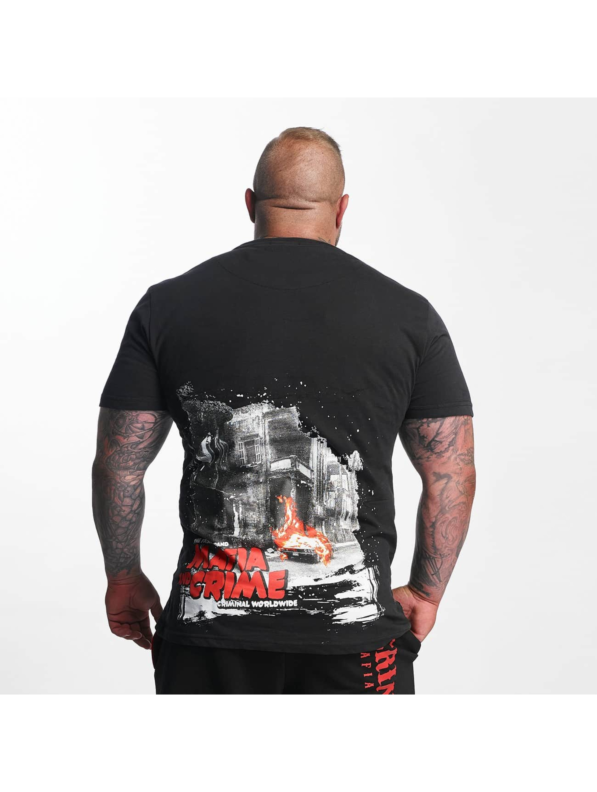 Mafia & Crime T-Shirt Criminal City WW noir