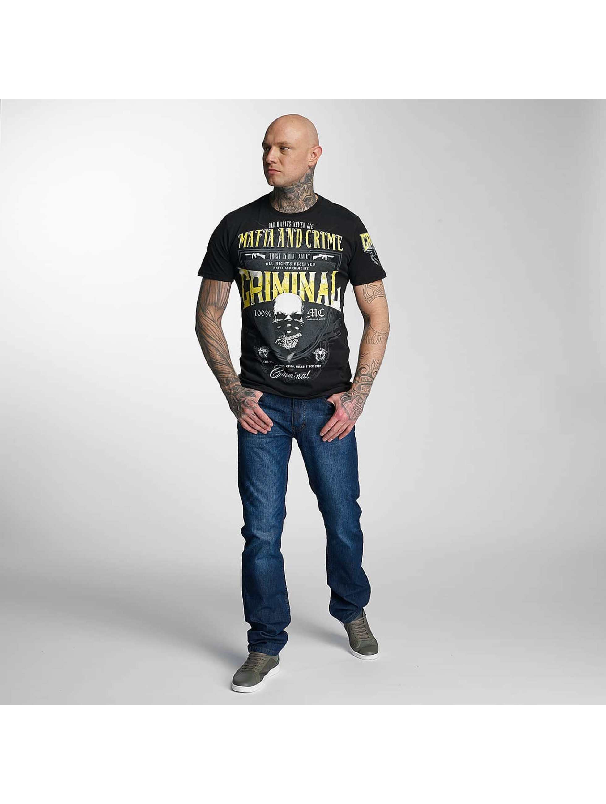 Mafia & Crime T-Shirt Criminal schwarz