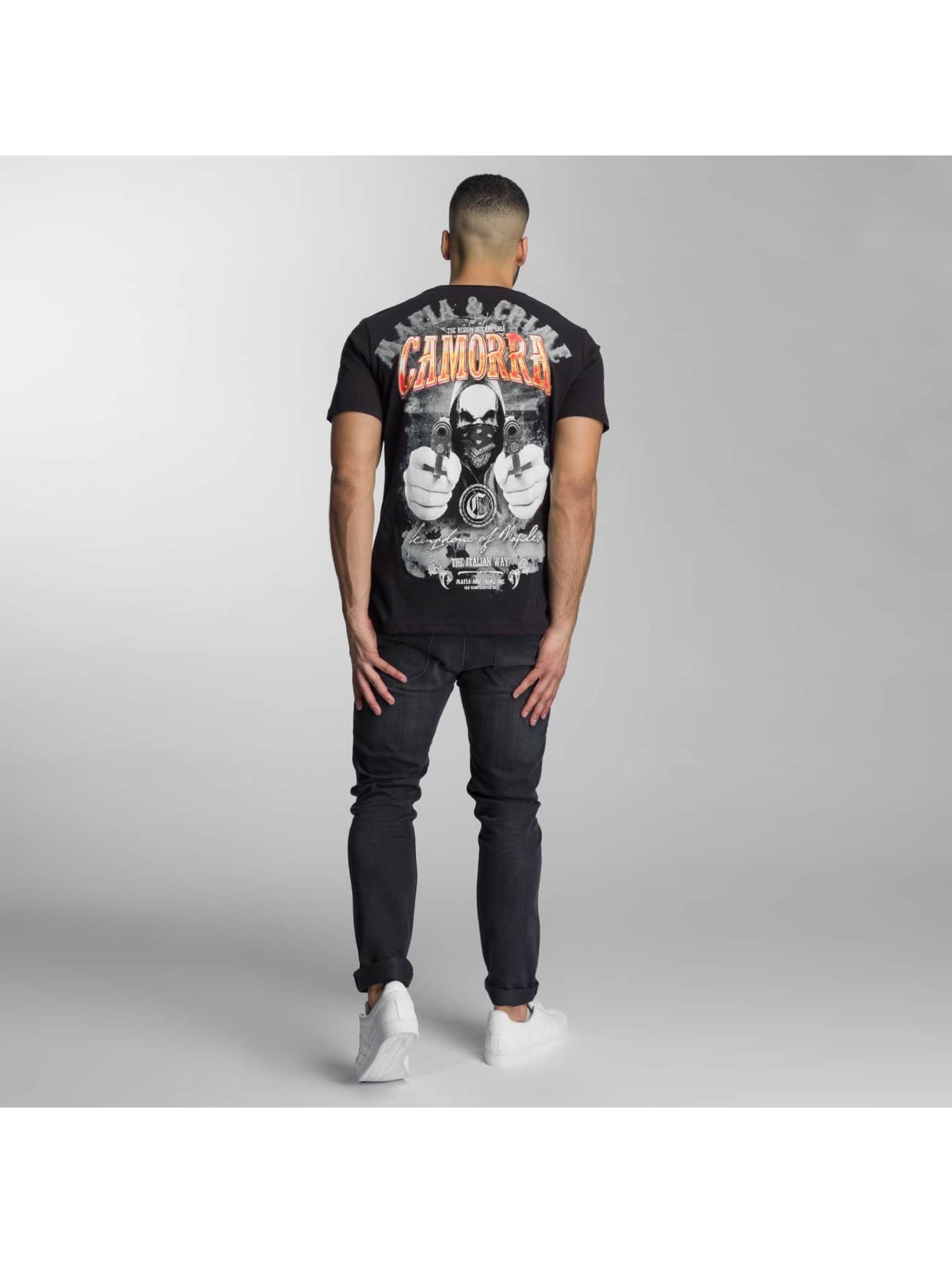 Mafia & Crime T-Shirt Camorra schwarz
