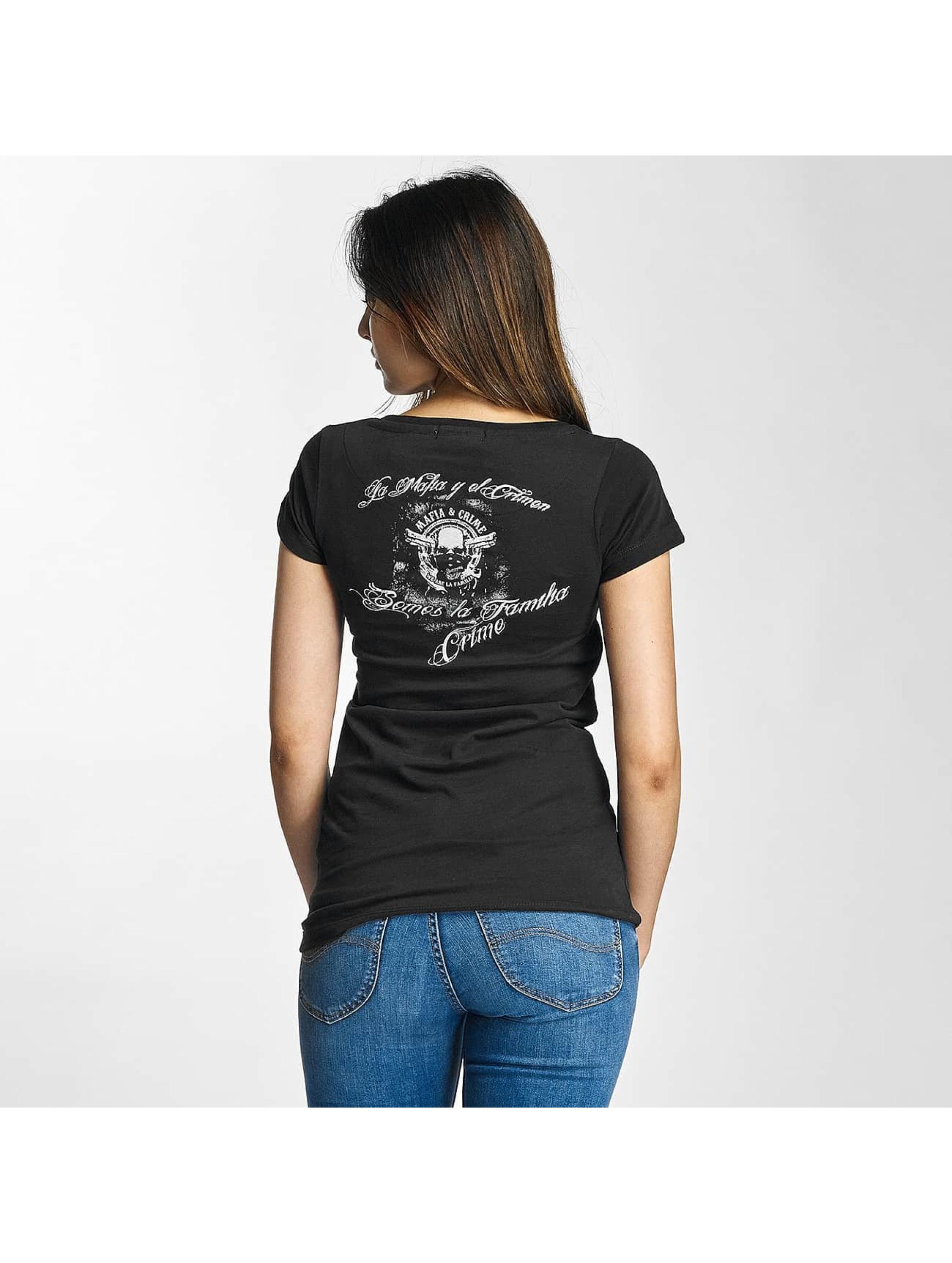 Mafia & Crime T-Shirt Somos La Familia Girls schwarz