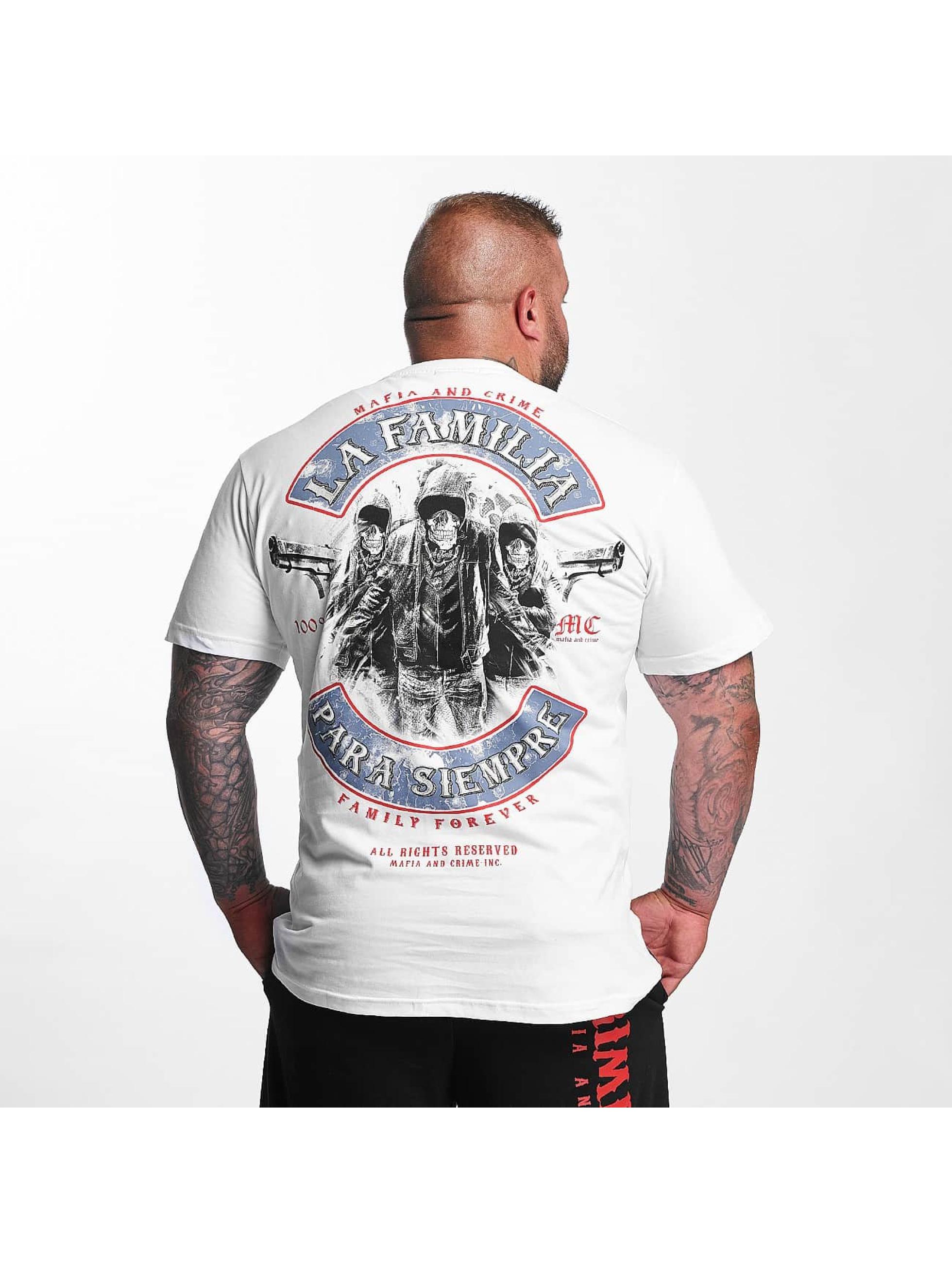 Mafia & Crime T-Shirt PARA SIEMPRE weiß