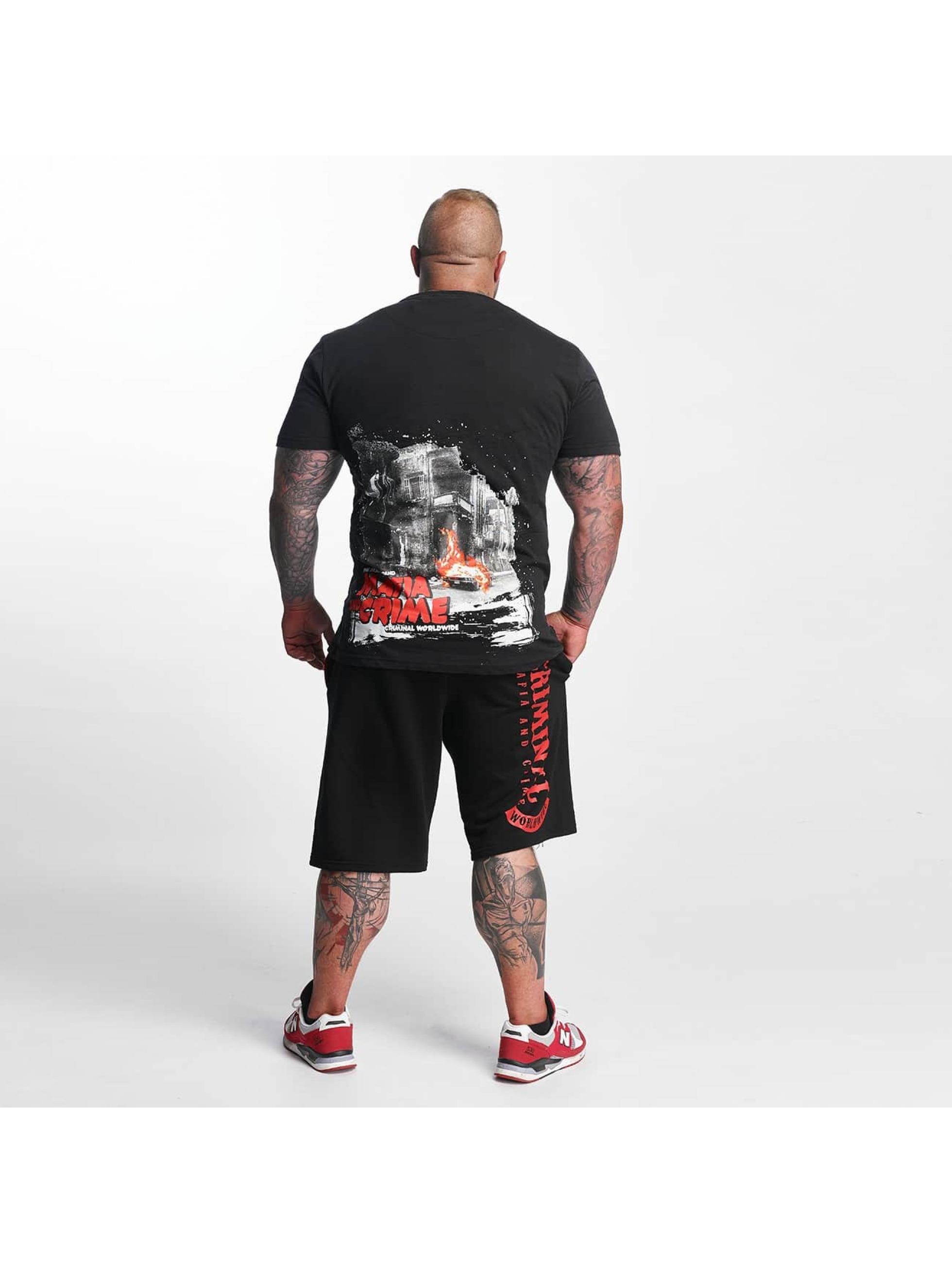Mafia & Crime t-shirt Criminal City WW zwart