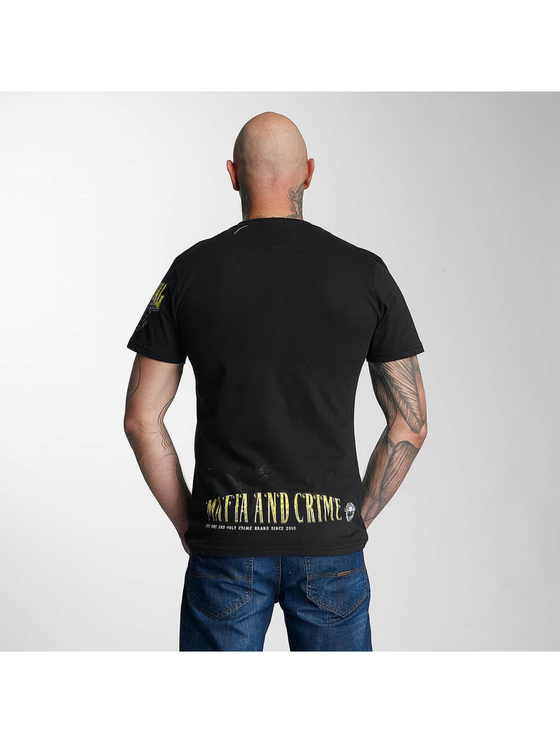 Mafia & Crime T-Shirty Criminal czarny