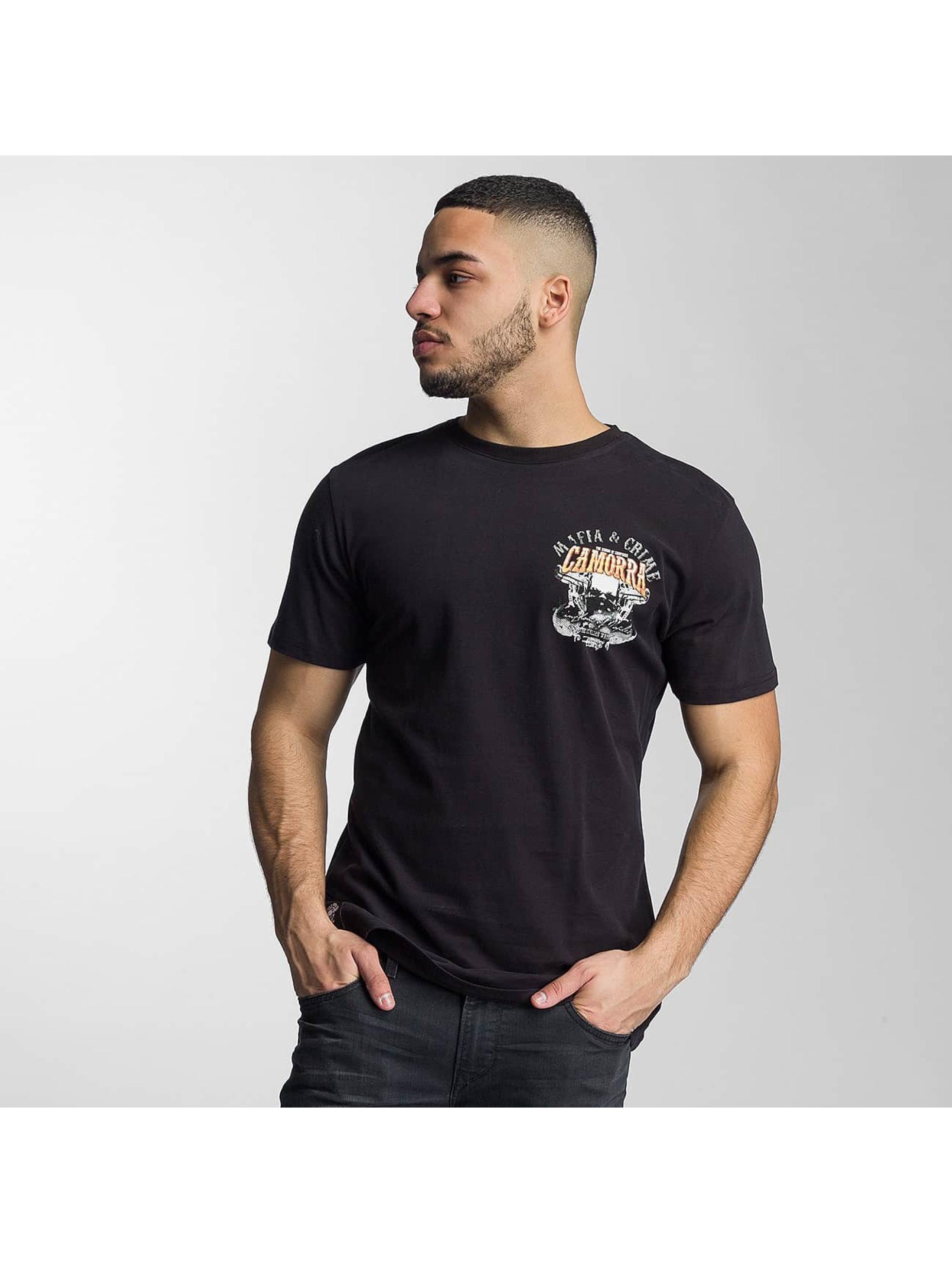 Mafia & Crime T-Shirty Camorra czarny