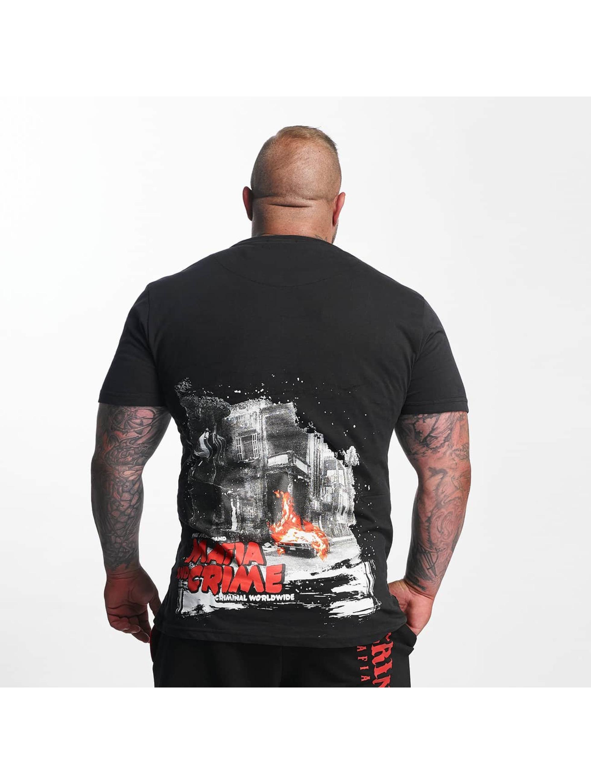 Mafia & Crime T-skjorter Criminal City WW svart