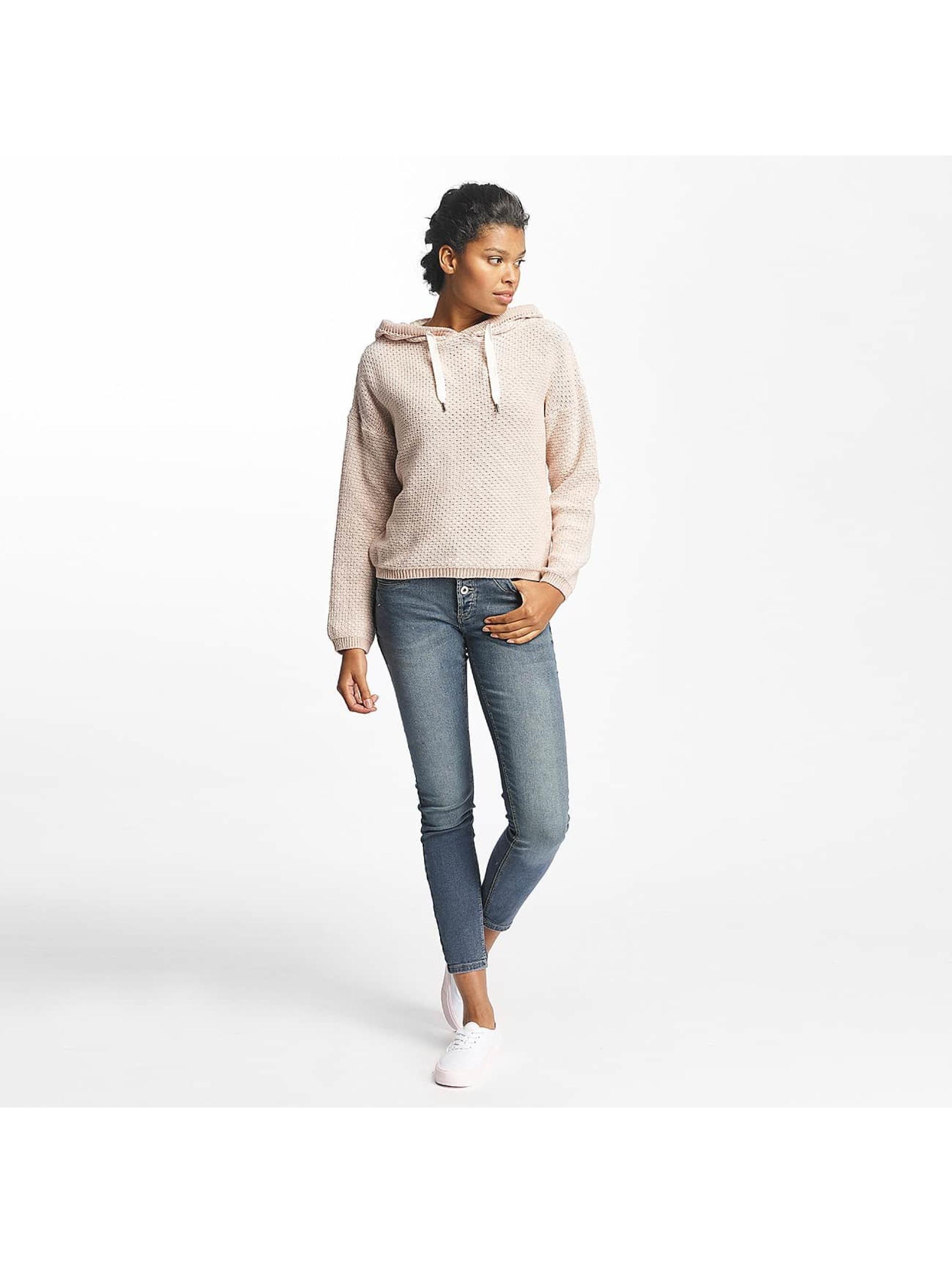 Mavi Jeans Bluzy z kapturem Nalani rózowy