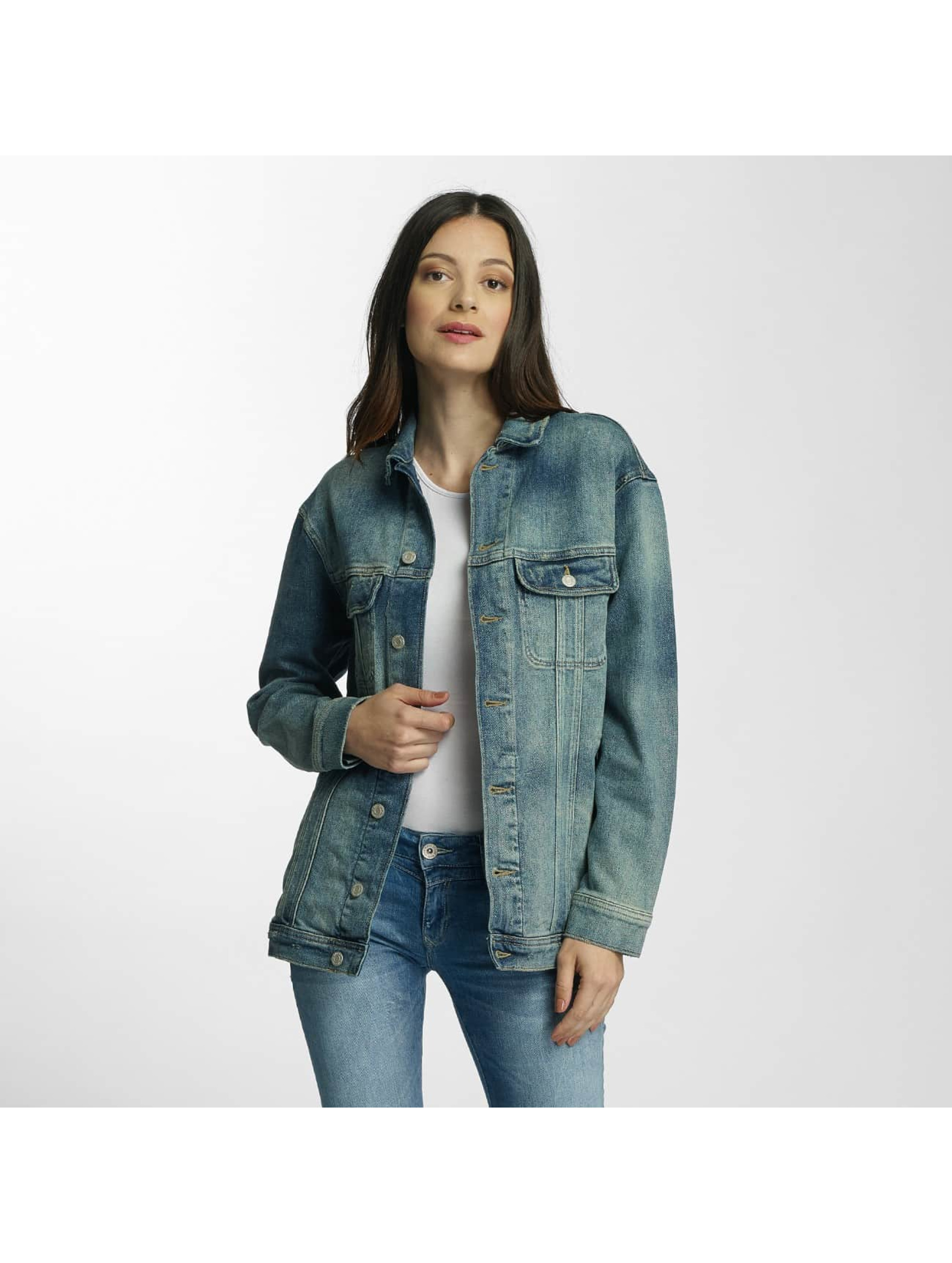 Mavi Jeans Giacca Mezza Stagione Rose blu