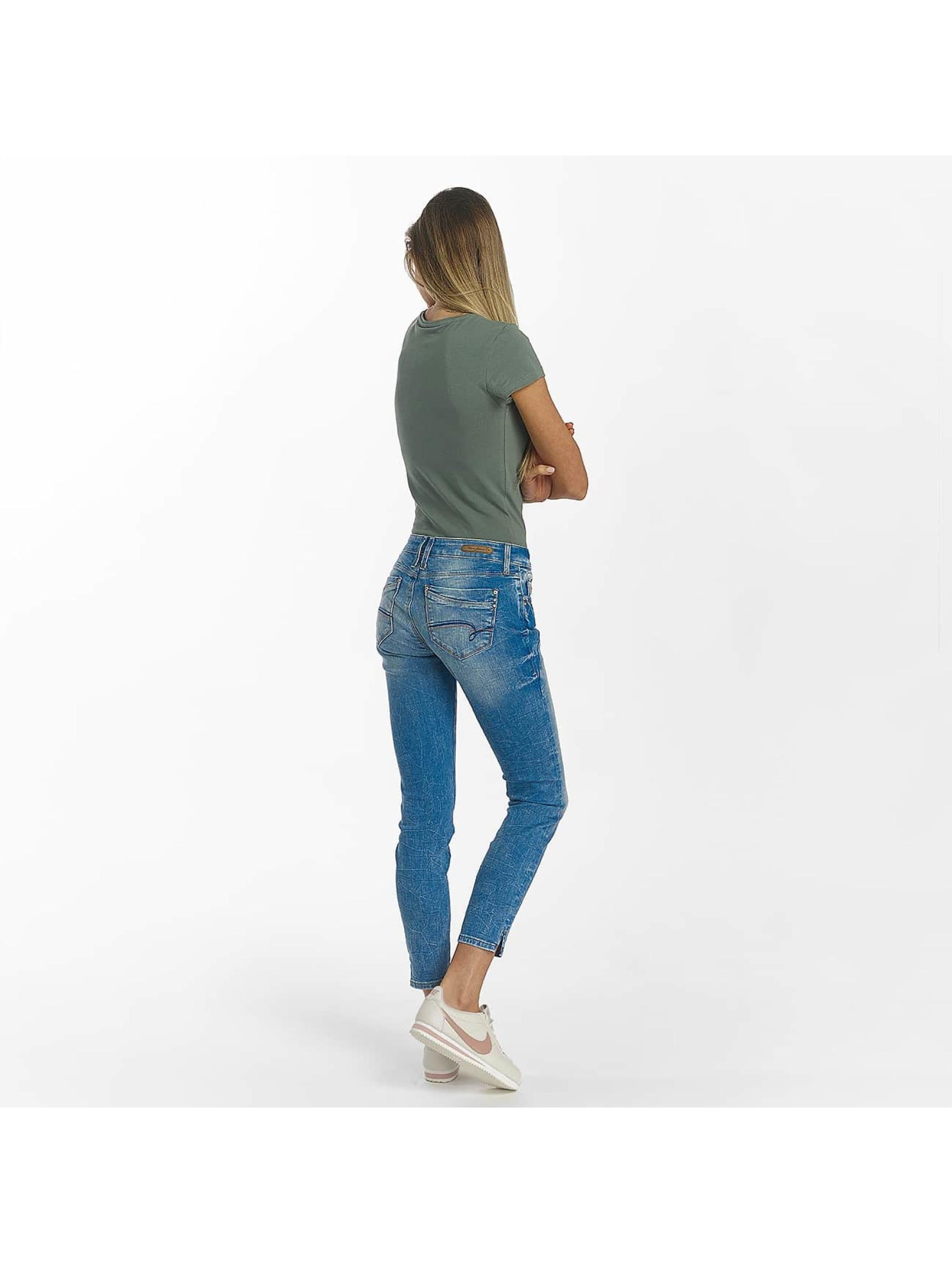 Mavi Jeans Skinny Jeans Adriana Ankle blau