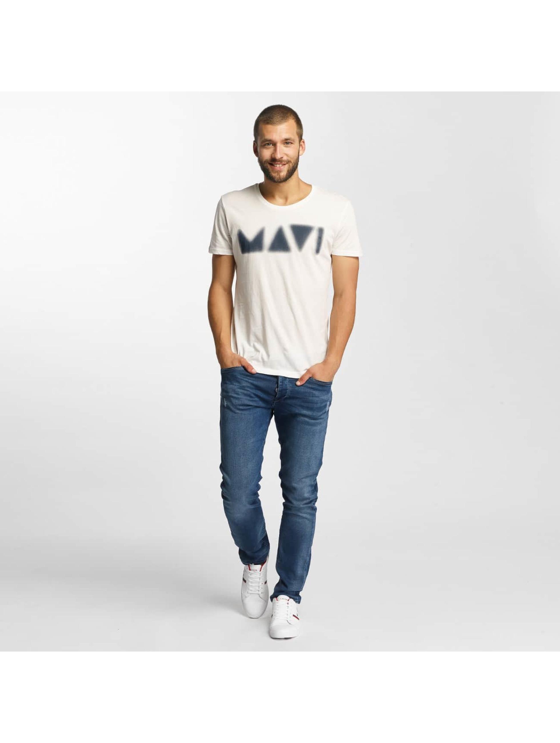 Mavi Jeans T-skjorter Printed hvit