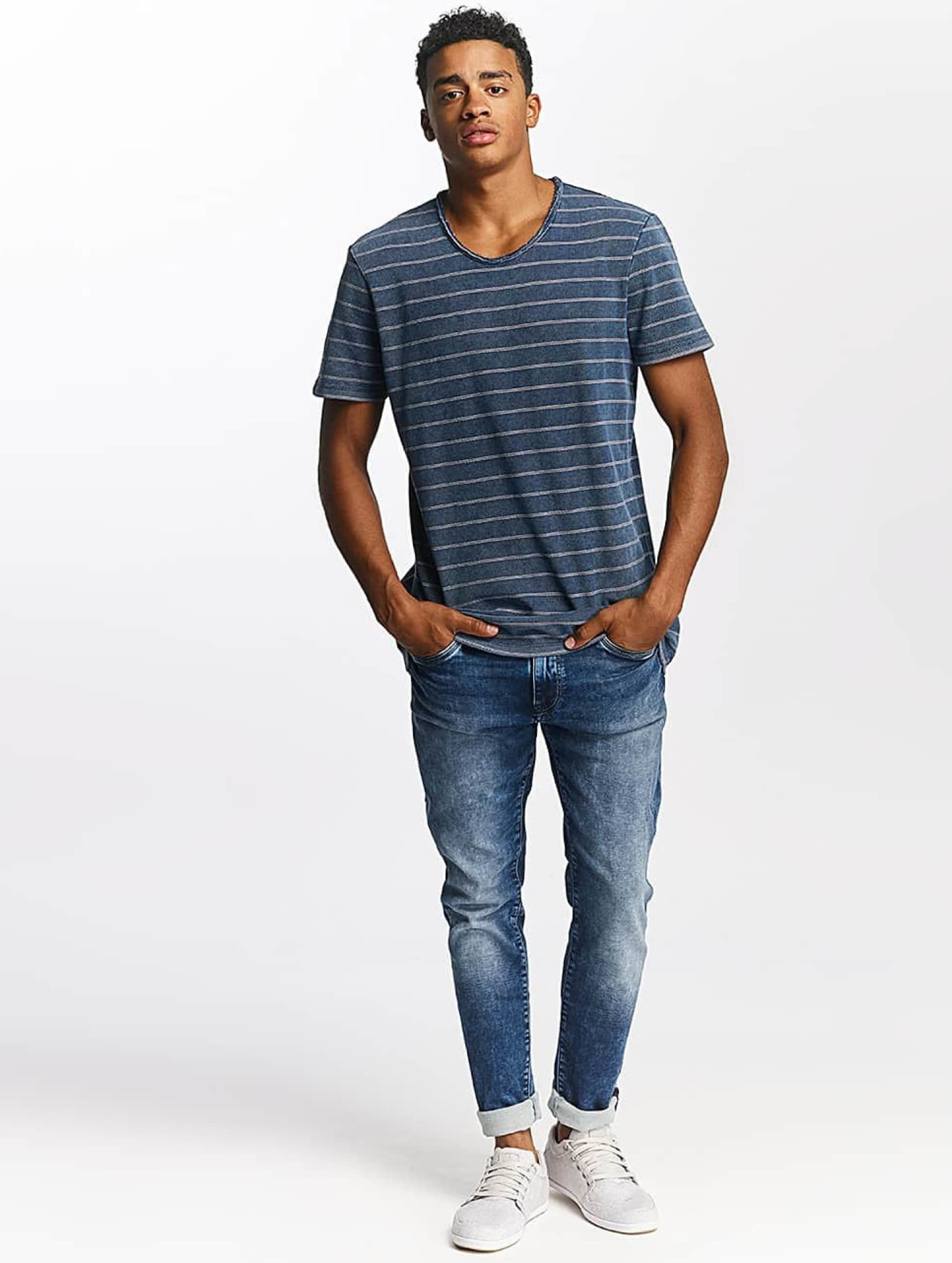 Mavi Jeans T-skjorter Indigo Stripe indigo