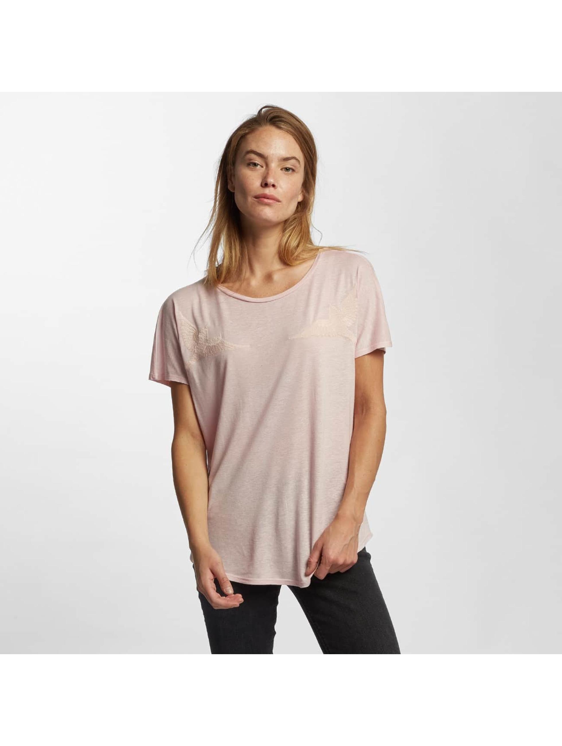Mavi Jeans T-skjorter Bird rosa