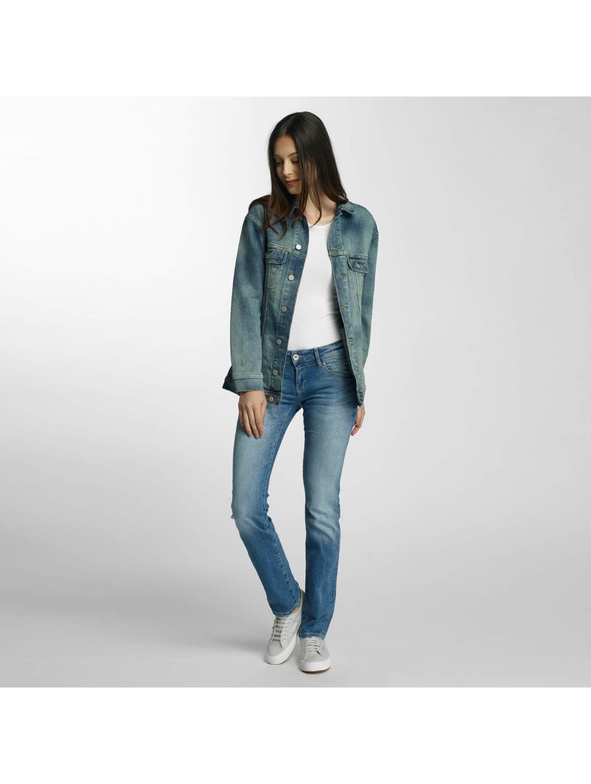 mavi jeans damen bergangsjacke rose in blau 375934. Black Bedroom Furniture Sets. Home Design Ideas