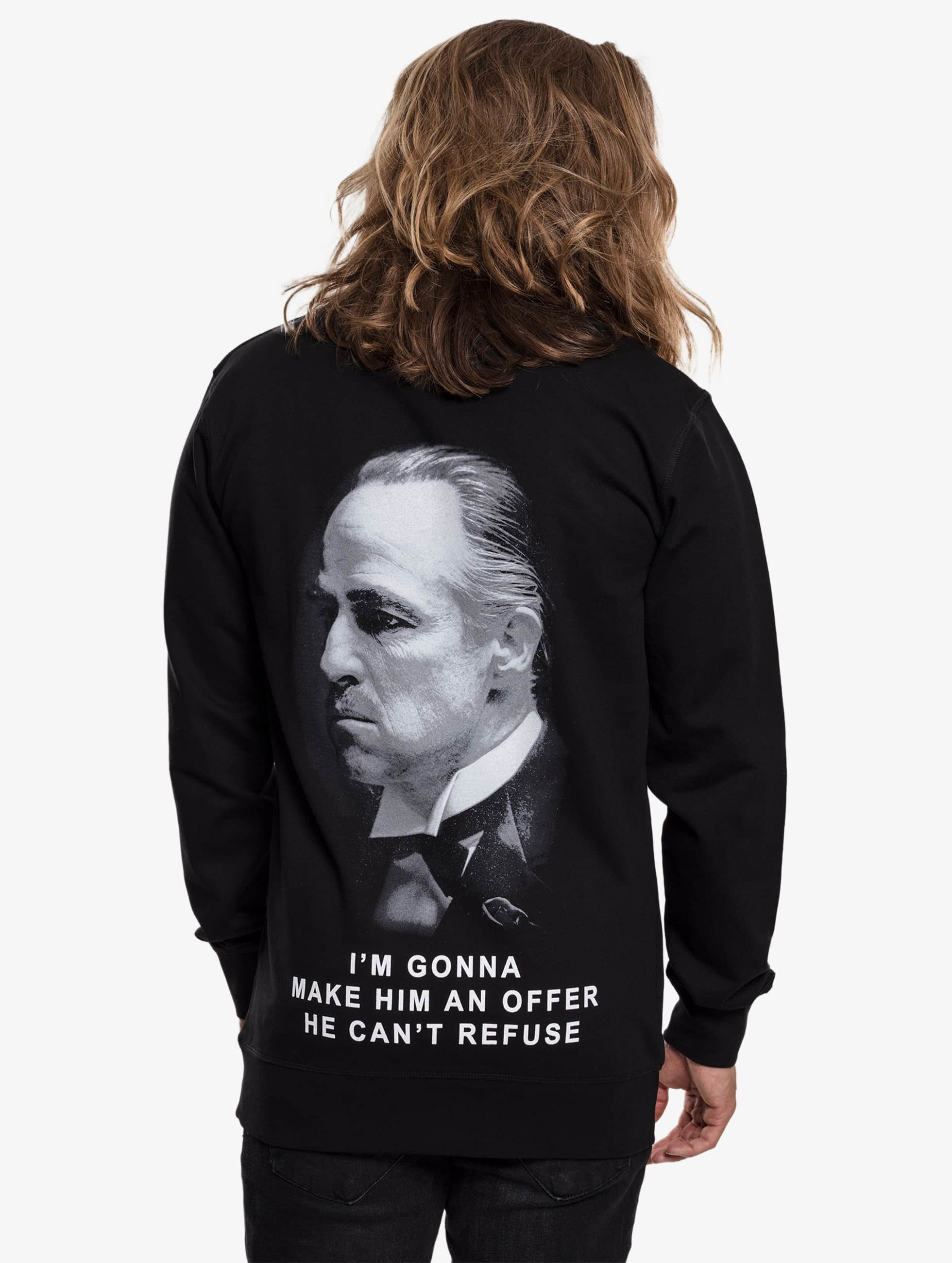 Merchcode Пуловер Godfather Refuse черный
