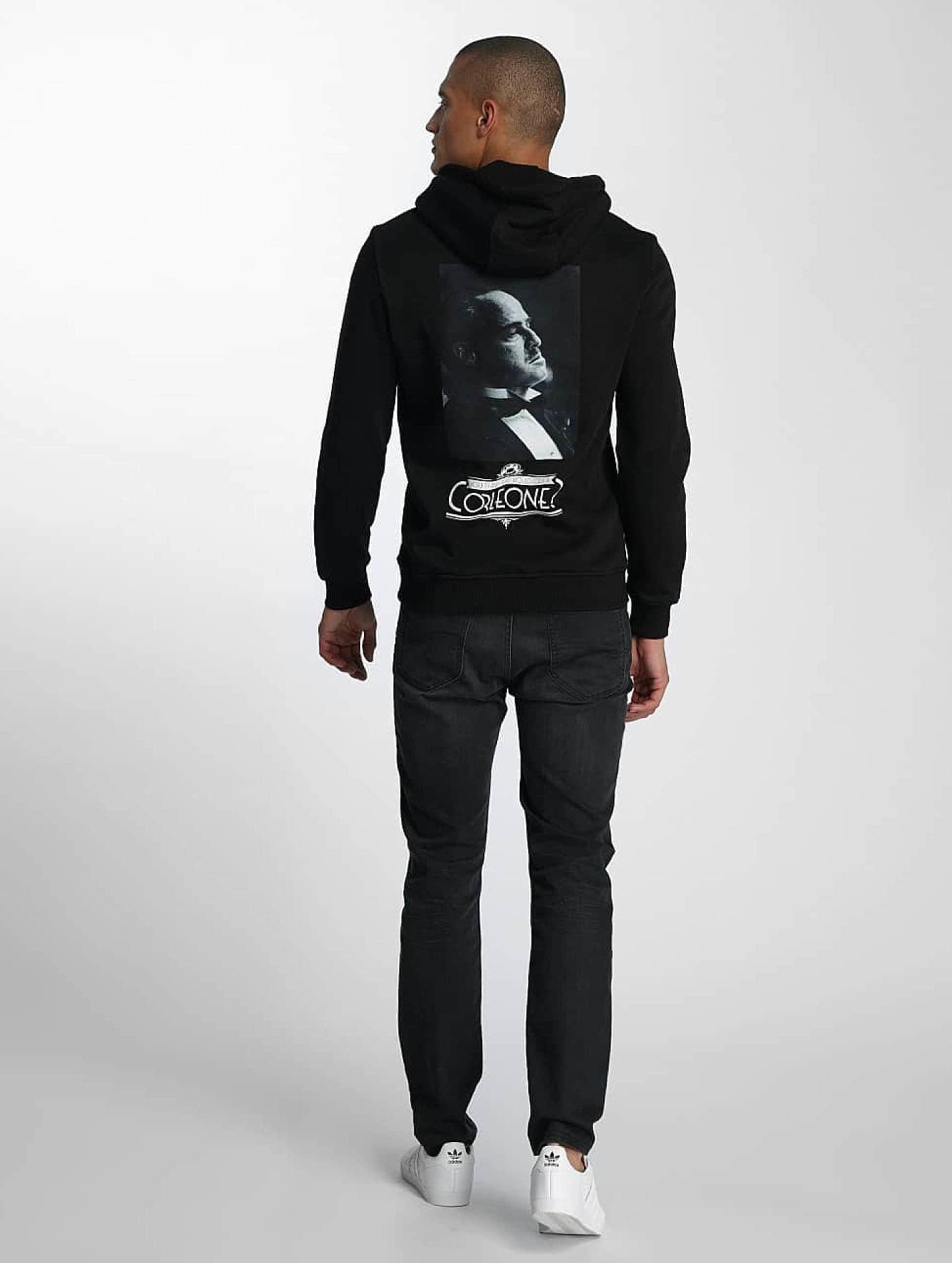 Merchcode Bluzy z kapturem Godfather Corleone czarny