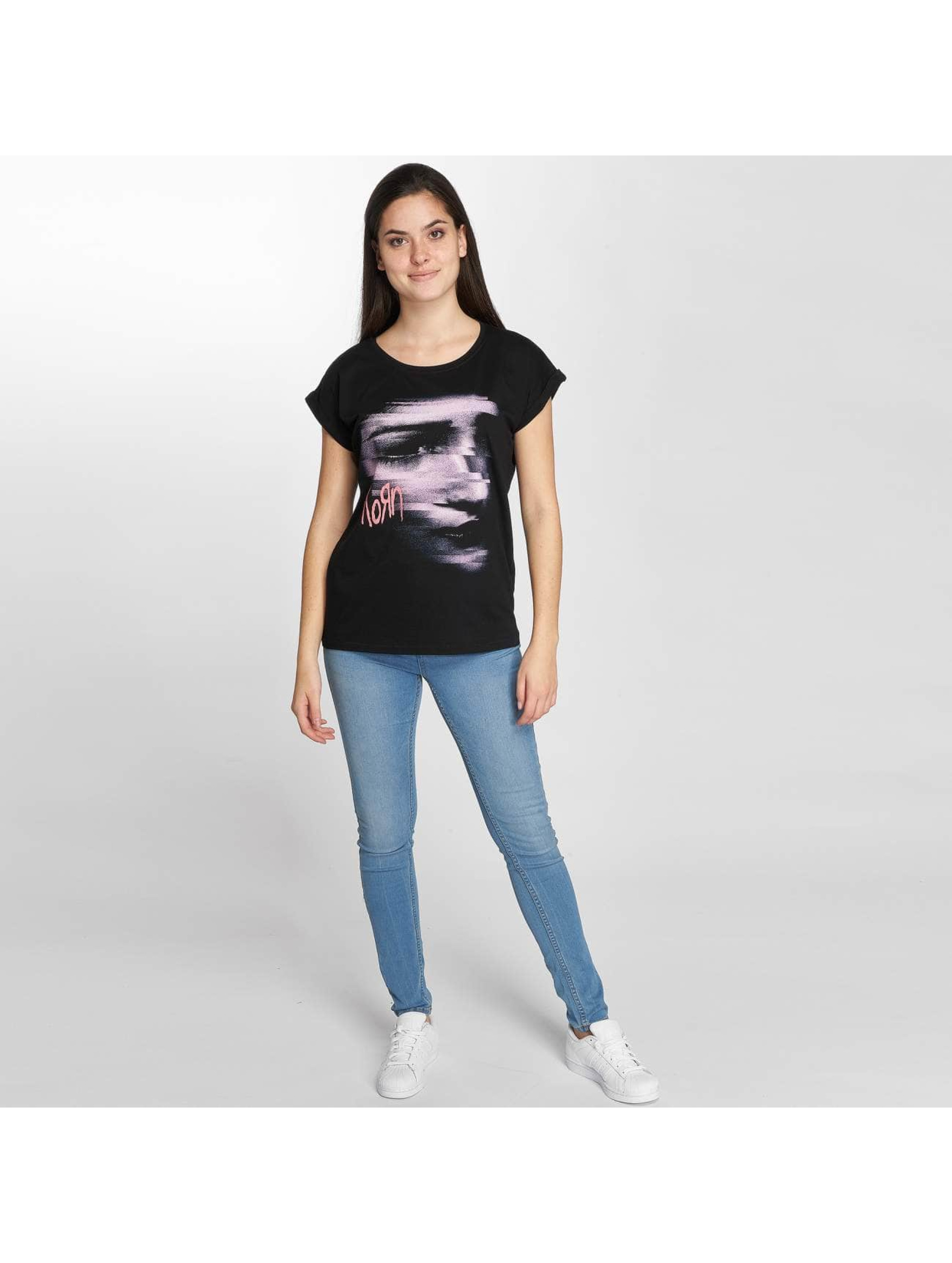 Merchcode Camiseta Korn Face negro