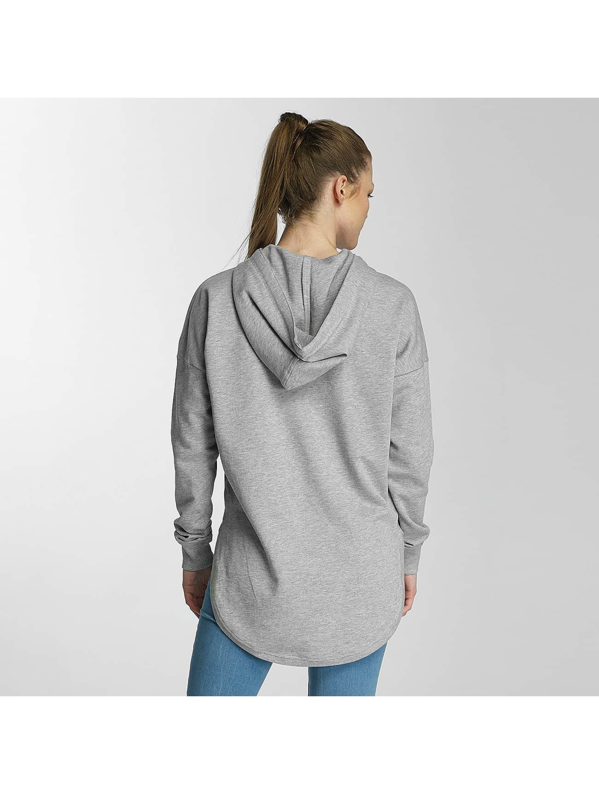 Merchcode Hoodie Ladies Banksy Umbrella Oversized grey