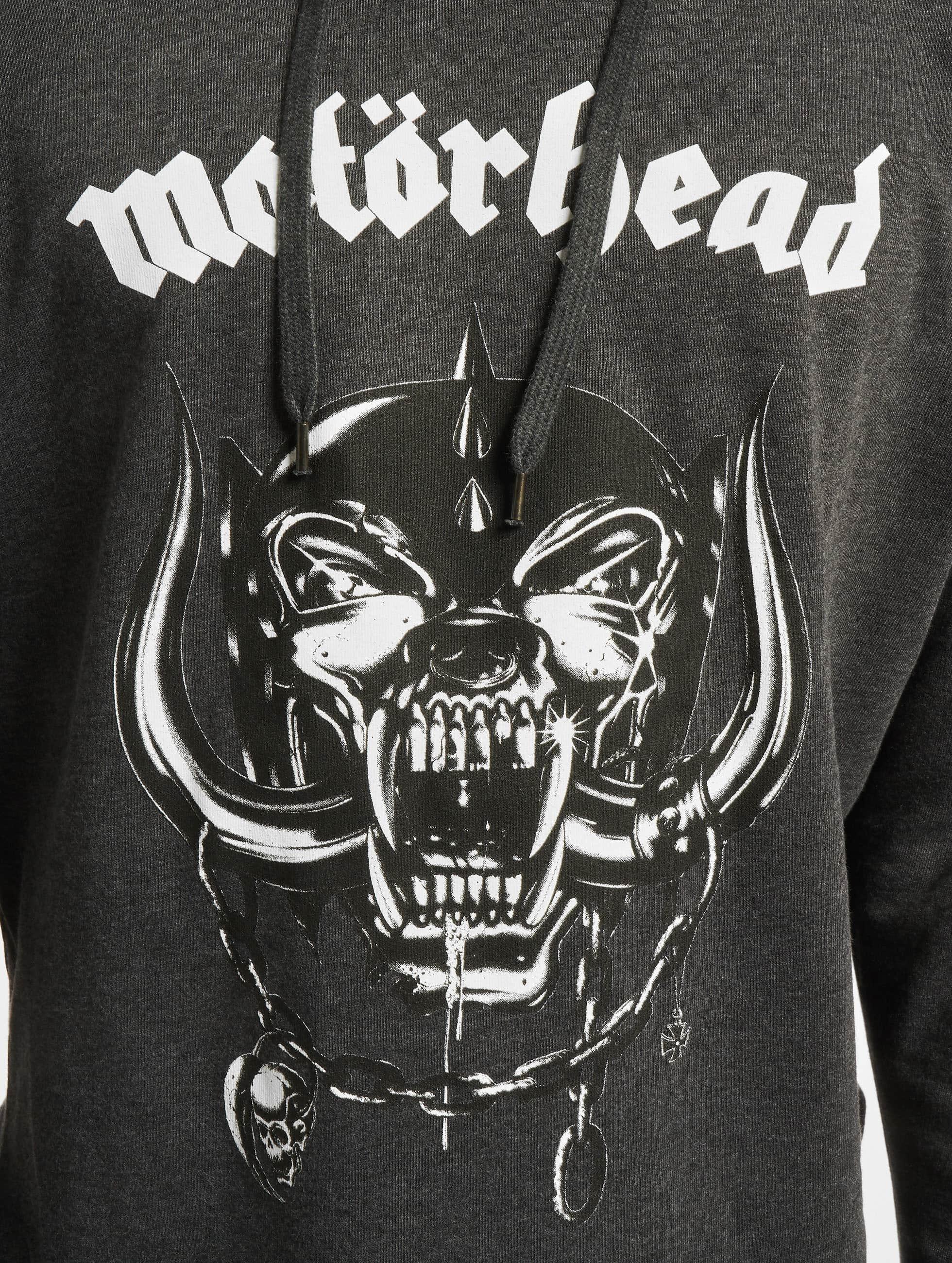 Merchcode Mikiny Motörhead Everything Louder šedá