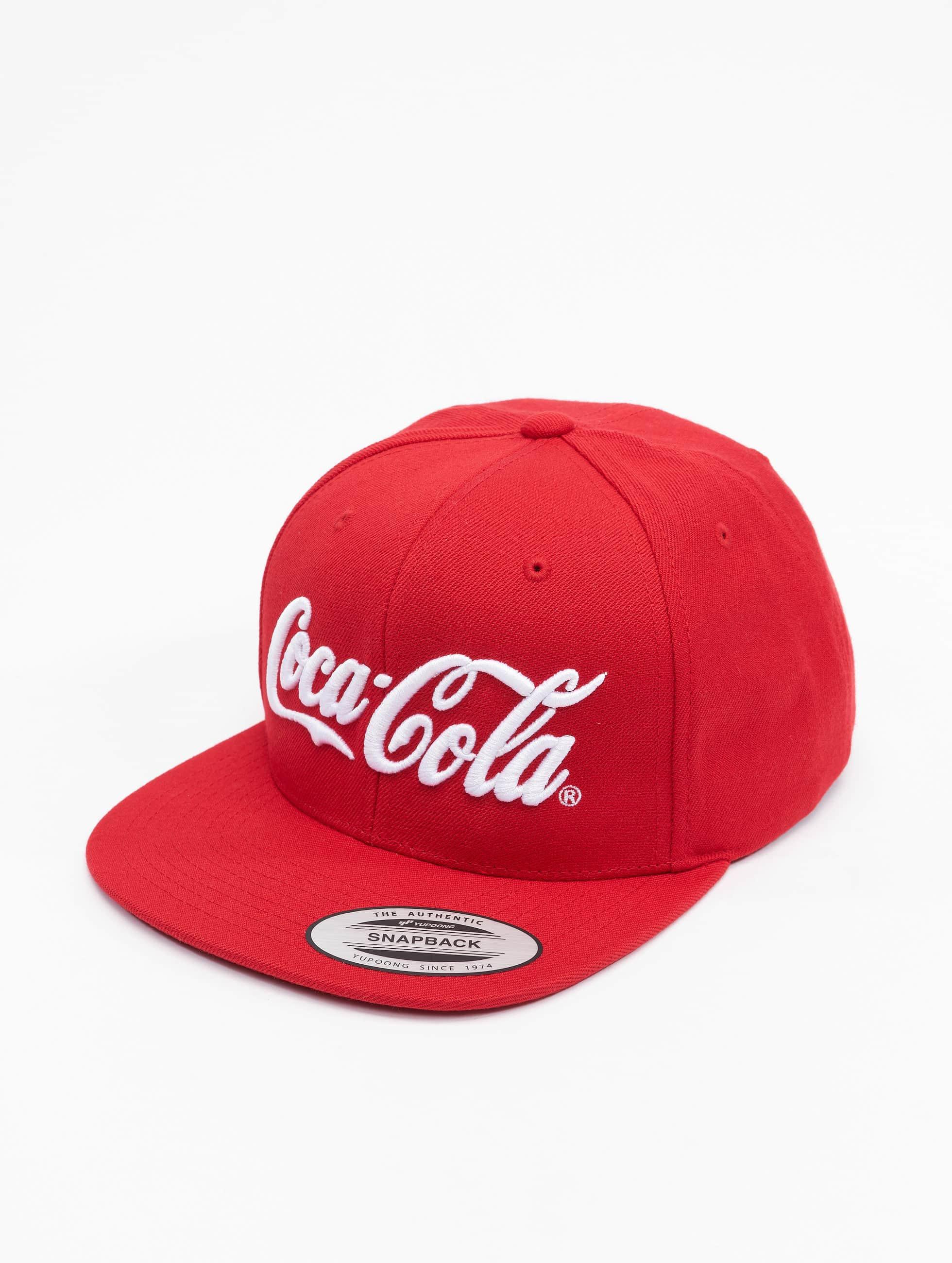 Merchcode Snapback Cap Coca Cola Logo red