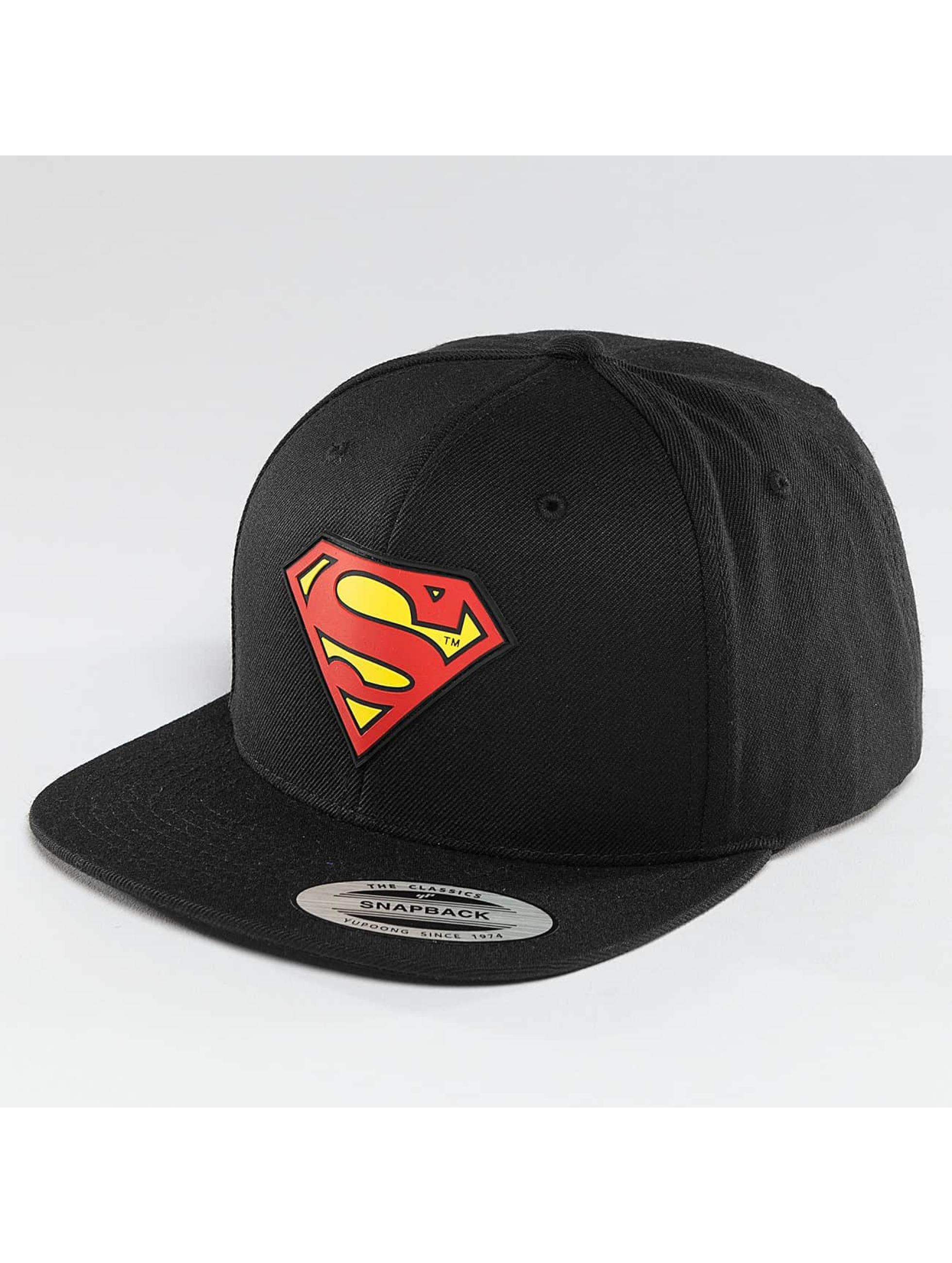 Merchcode Snapback Caps Superman czarny